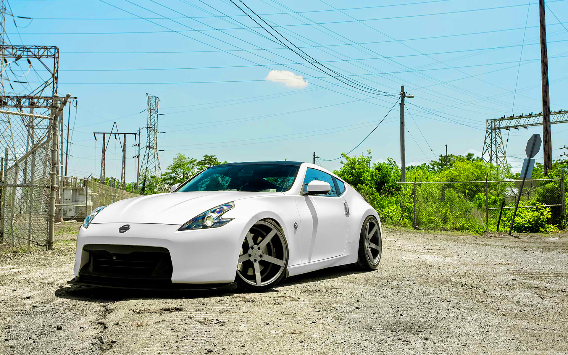 Nissan 370z vossen wheels