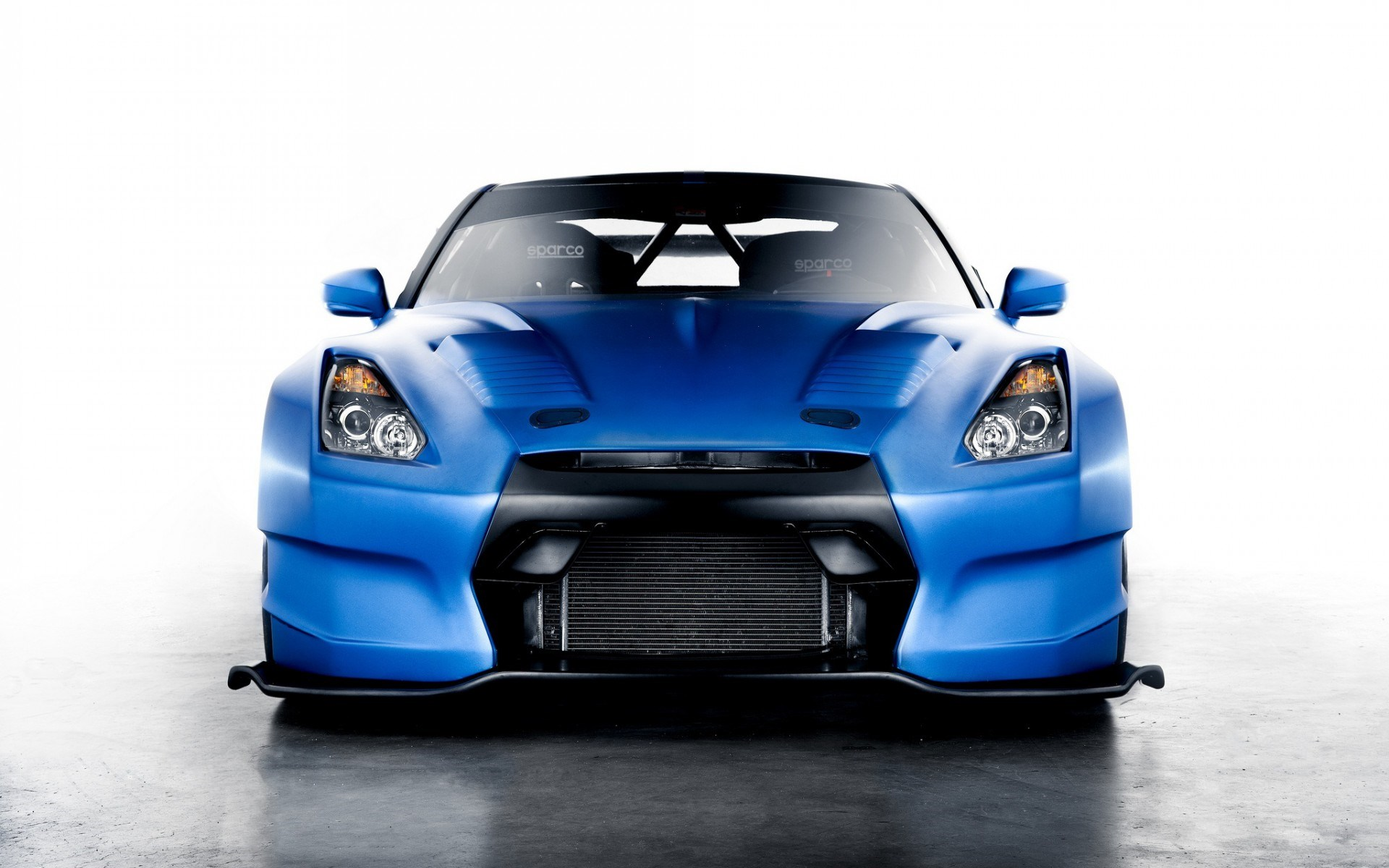 Nissan GT-R Blue Car