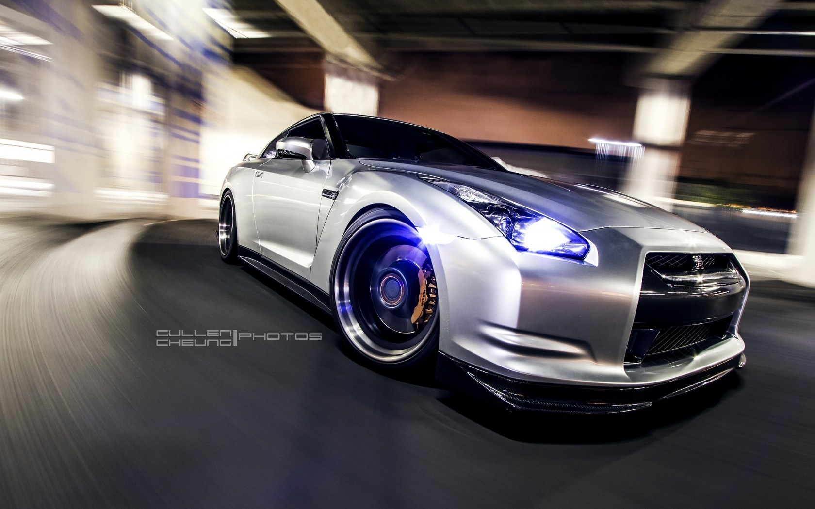 Nissan GT-R R35 Front Car Wheels Tuning HD Wallpaper