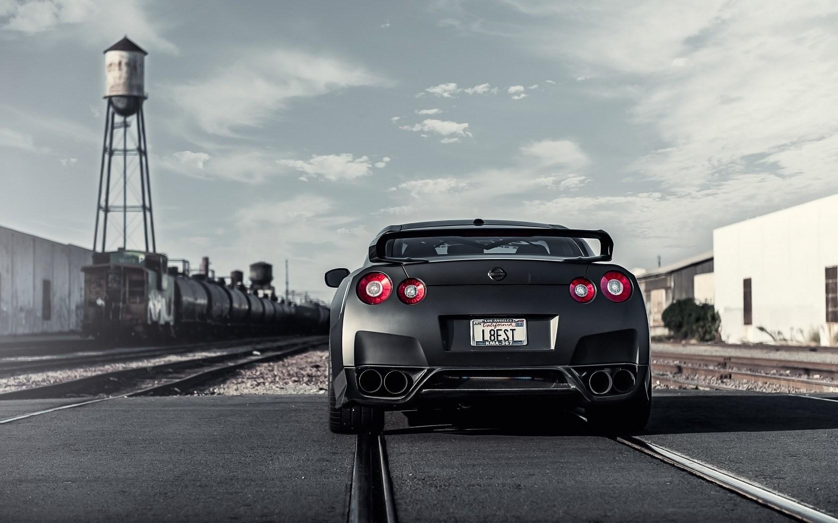Nissan GT-R Car Tuning Rear