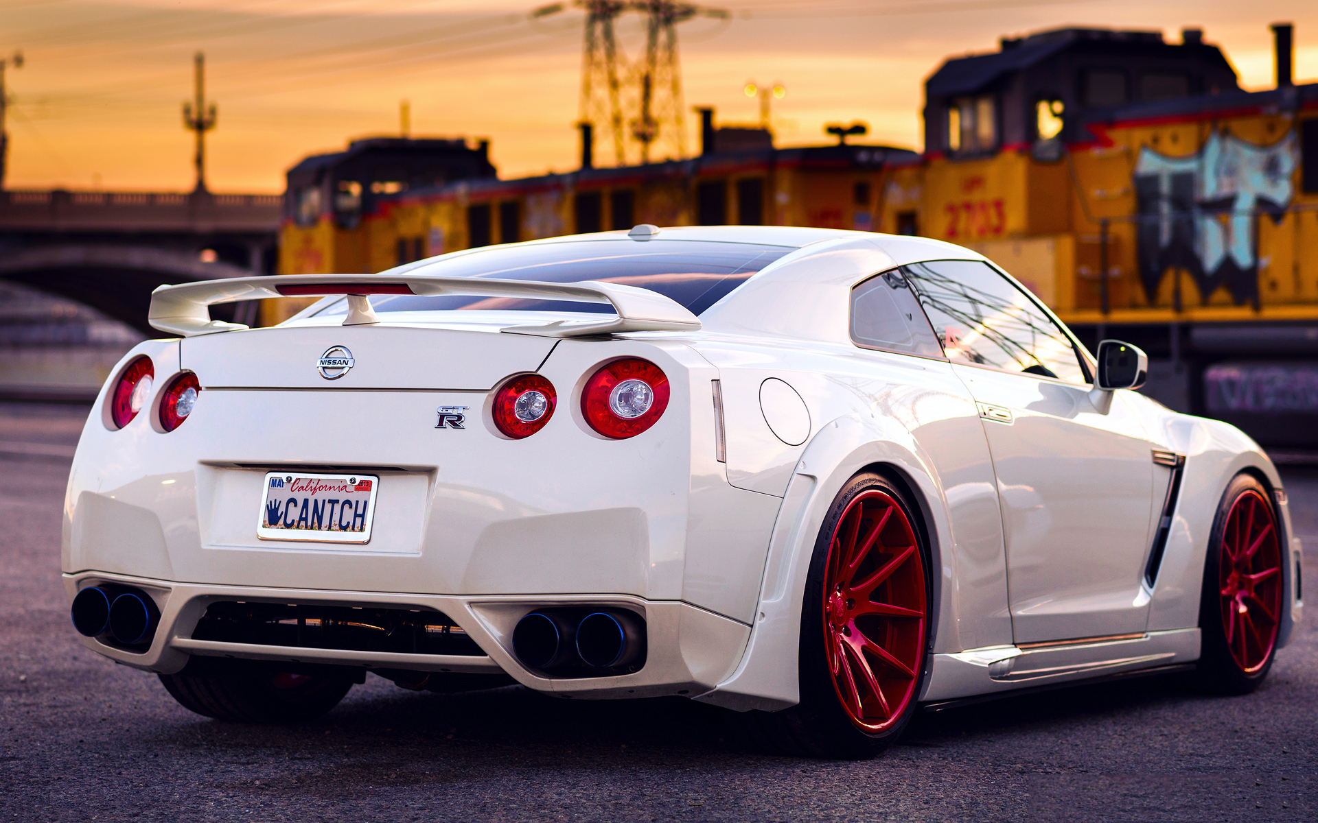 Nissan gtr modified
