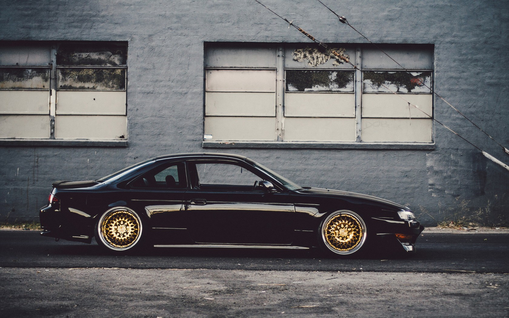 Nissan Silvia 240sx S14 Car Tuning Side Wallpaper 1680x1050 17577