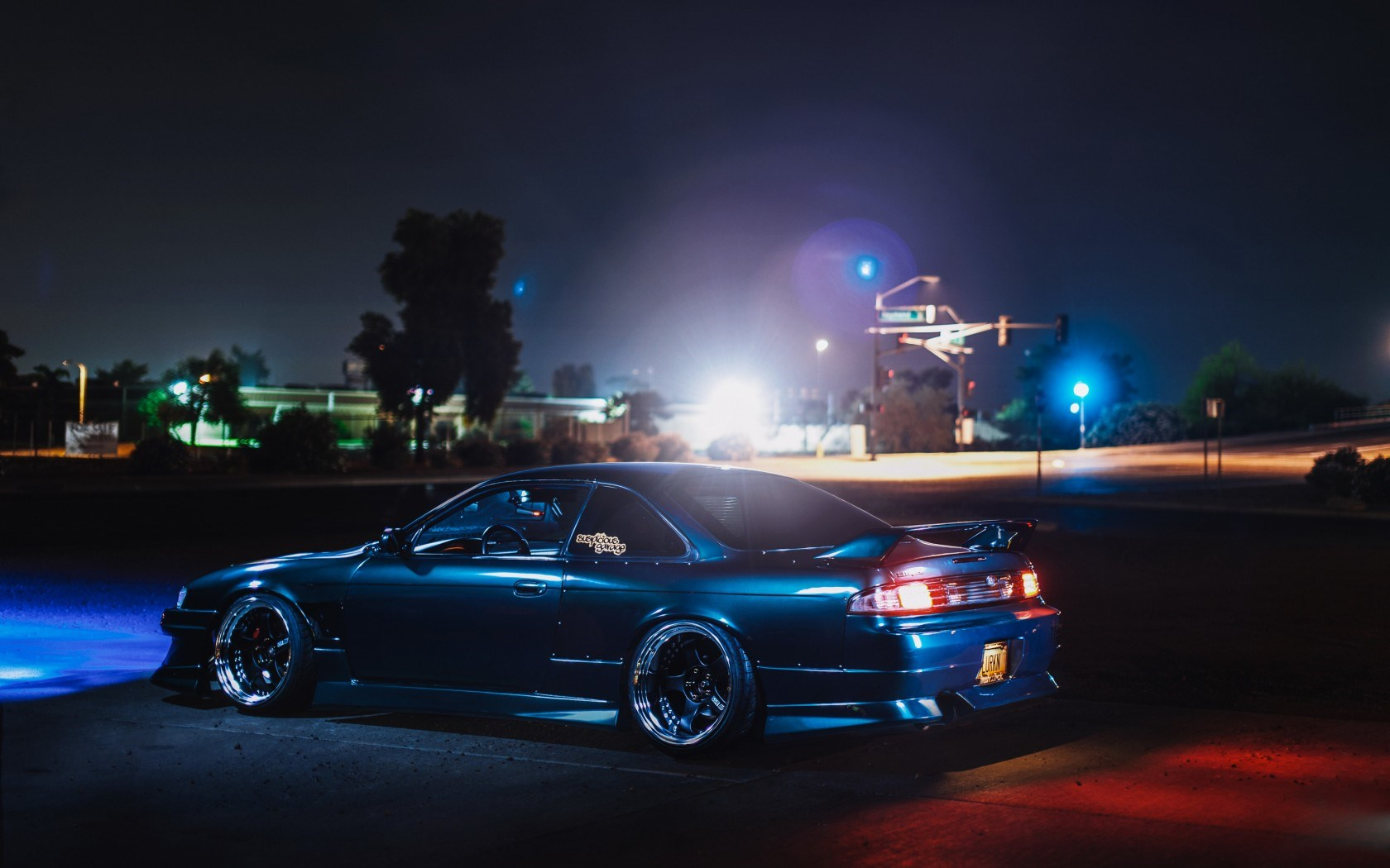 Nissan Silvia S14 240SX Tuning Night