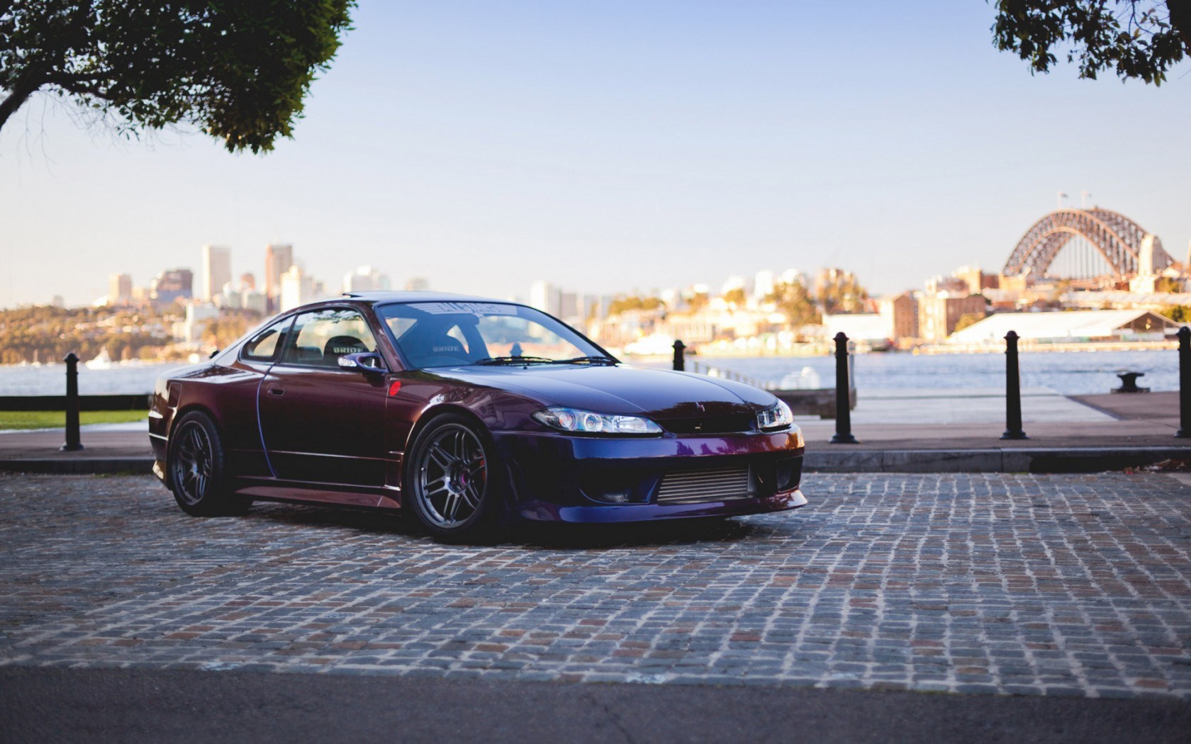 Nissan Silvia Spec-R S15 Tuning Car Parking