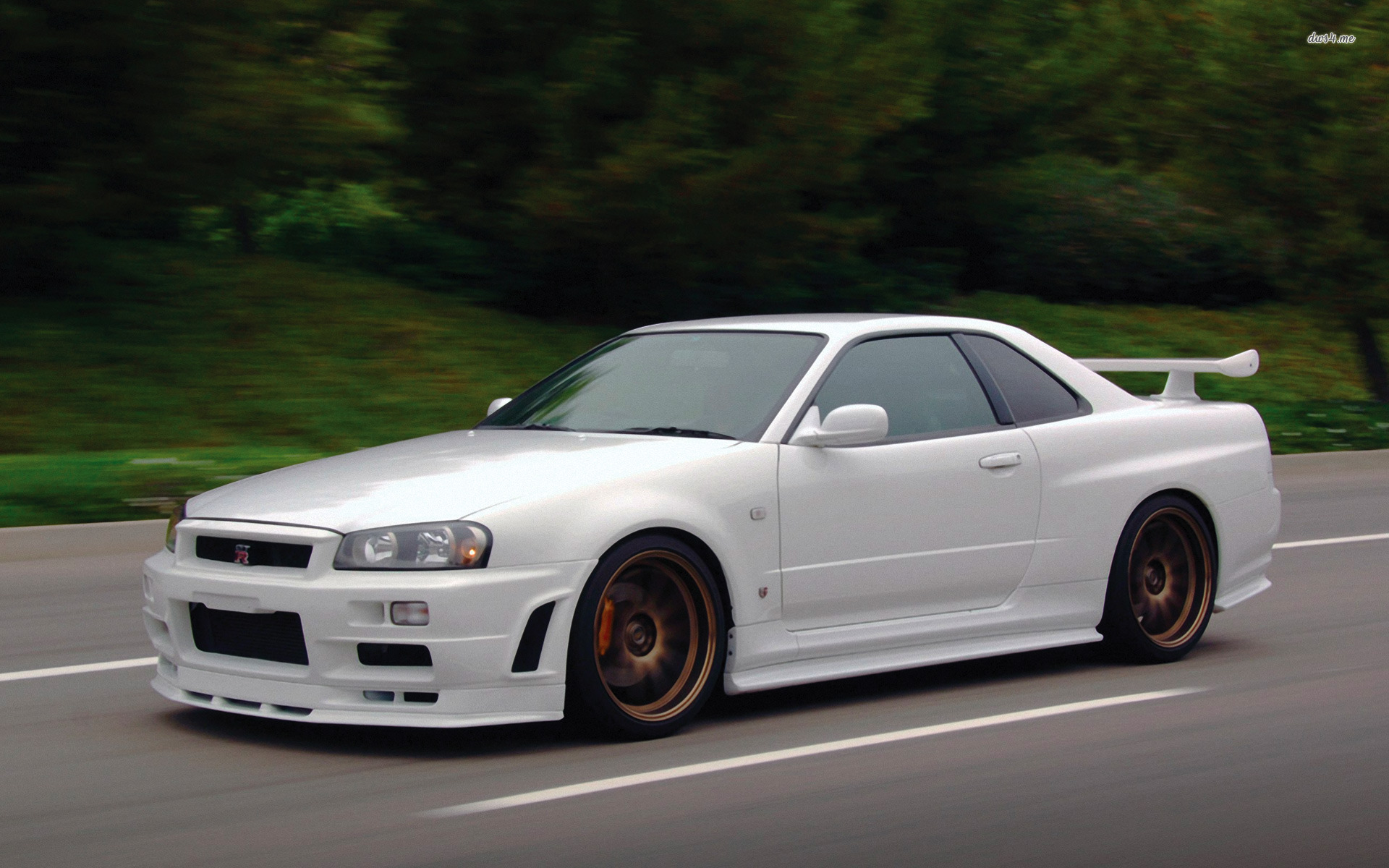 ... Nissan Skyline GT-R R34 wallpaper 1920x1200 ...