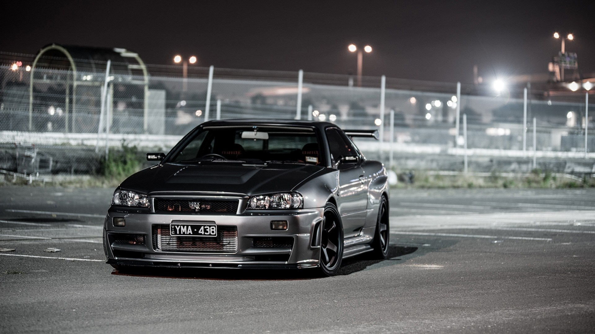 Black Nissan Skyline
