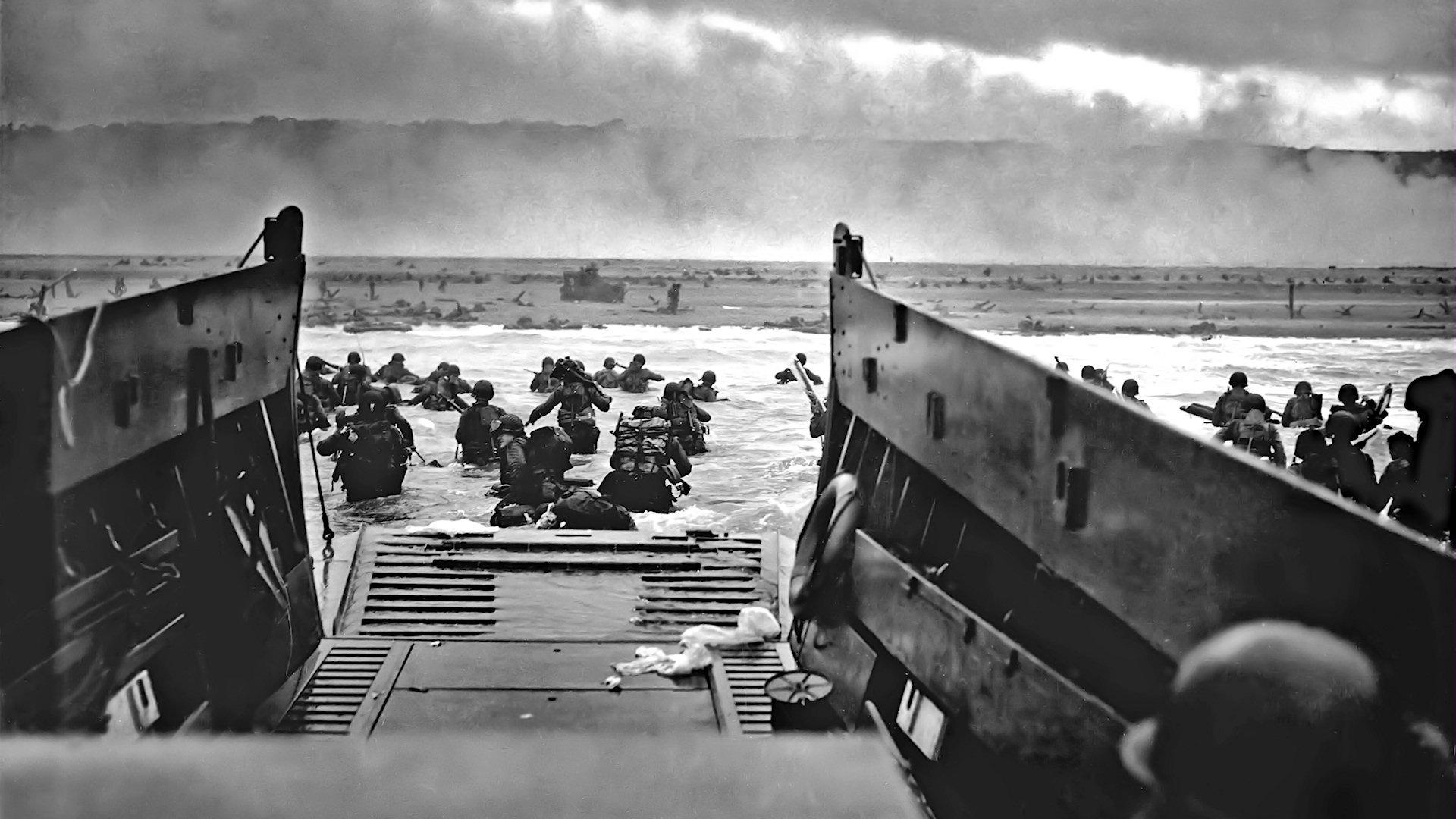 Normandy World War 2. Res: 1920x1080 HD / Size:421kb. Views: 30586