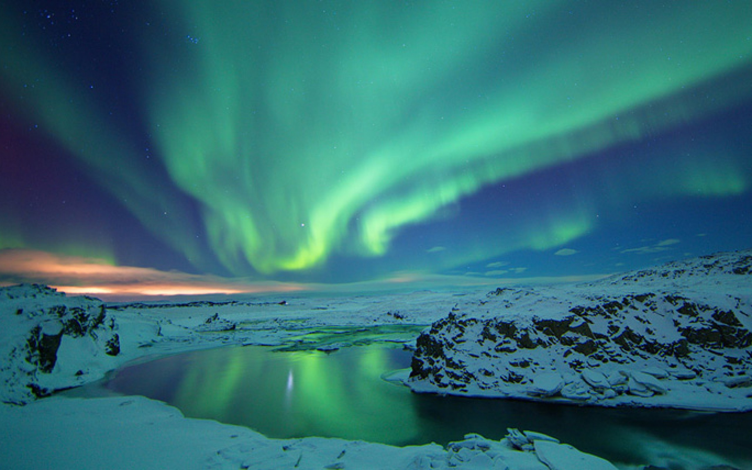 Northern Lights Iceland Hd Wallpaper Background Label Xpx