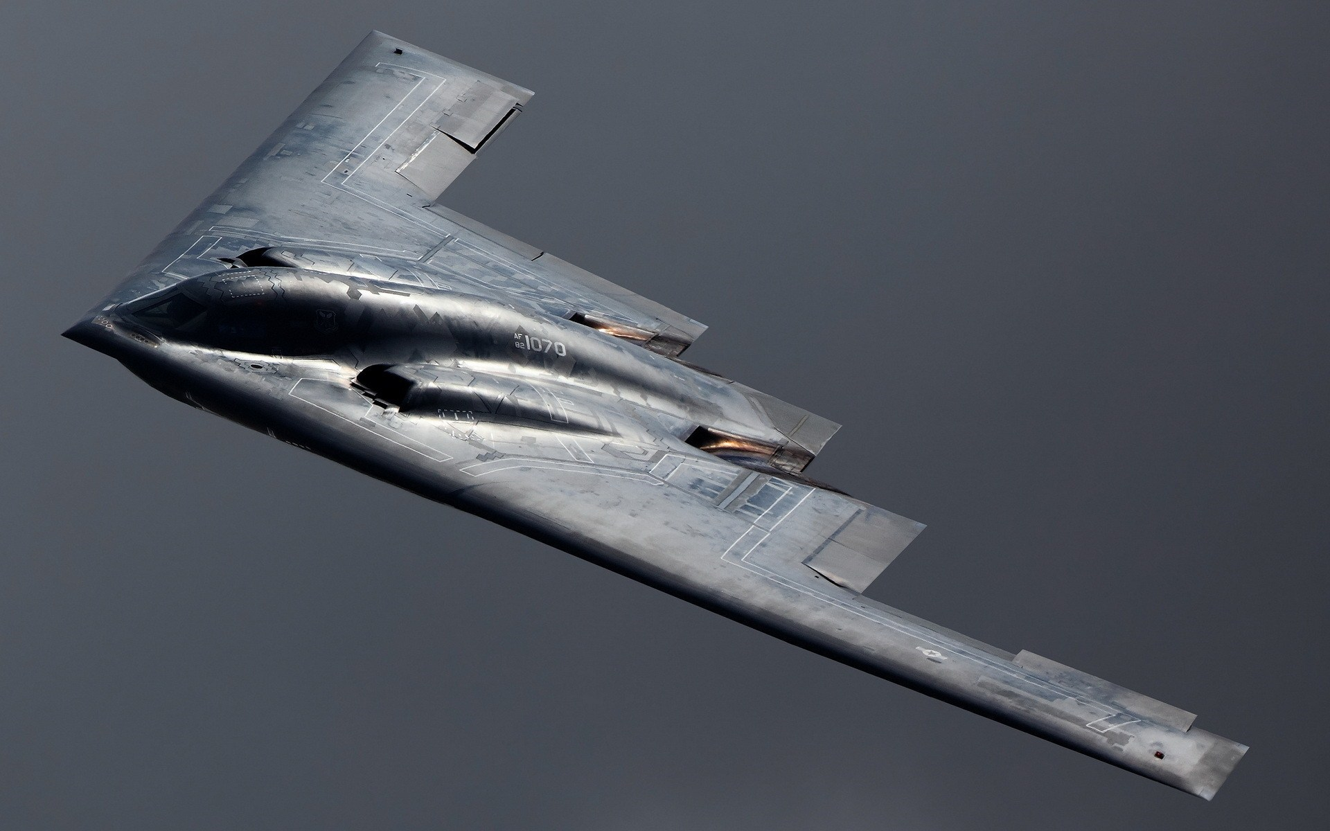 Northrop Grumman B-2 Stealth Bomber Military Aircraft