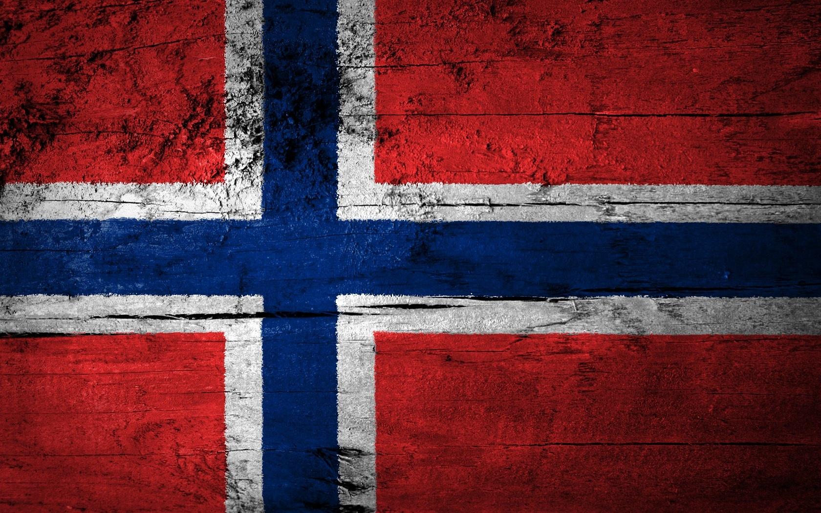 Norwegian Flag Wallpaper