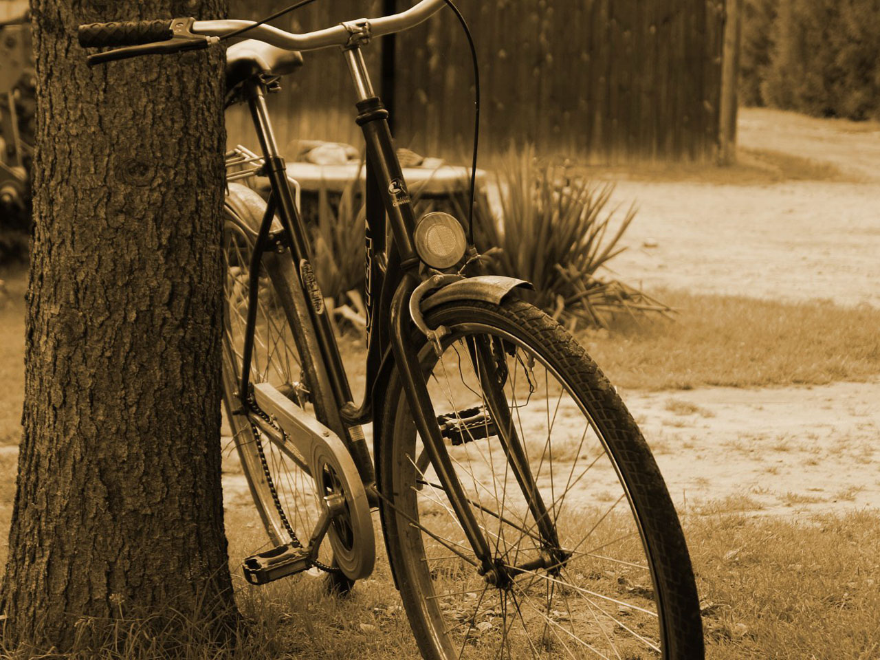 A nostalgic bike photography wallpaper Auto desktop background