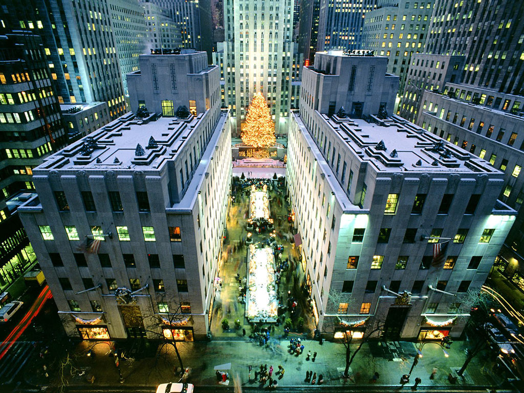Ny from rock center