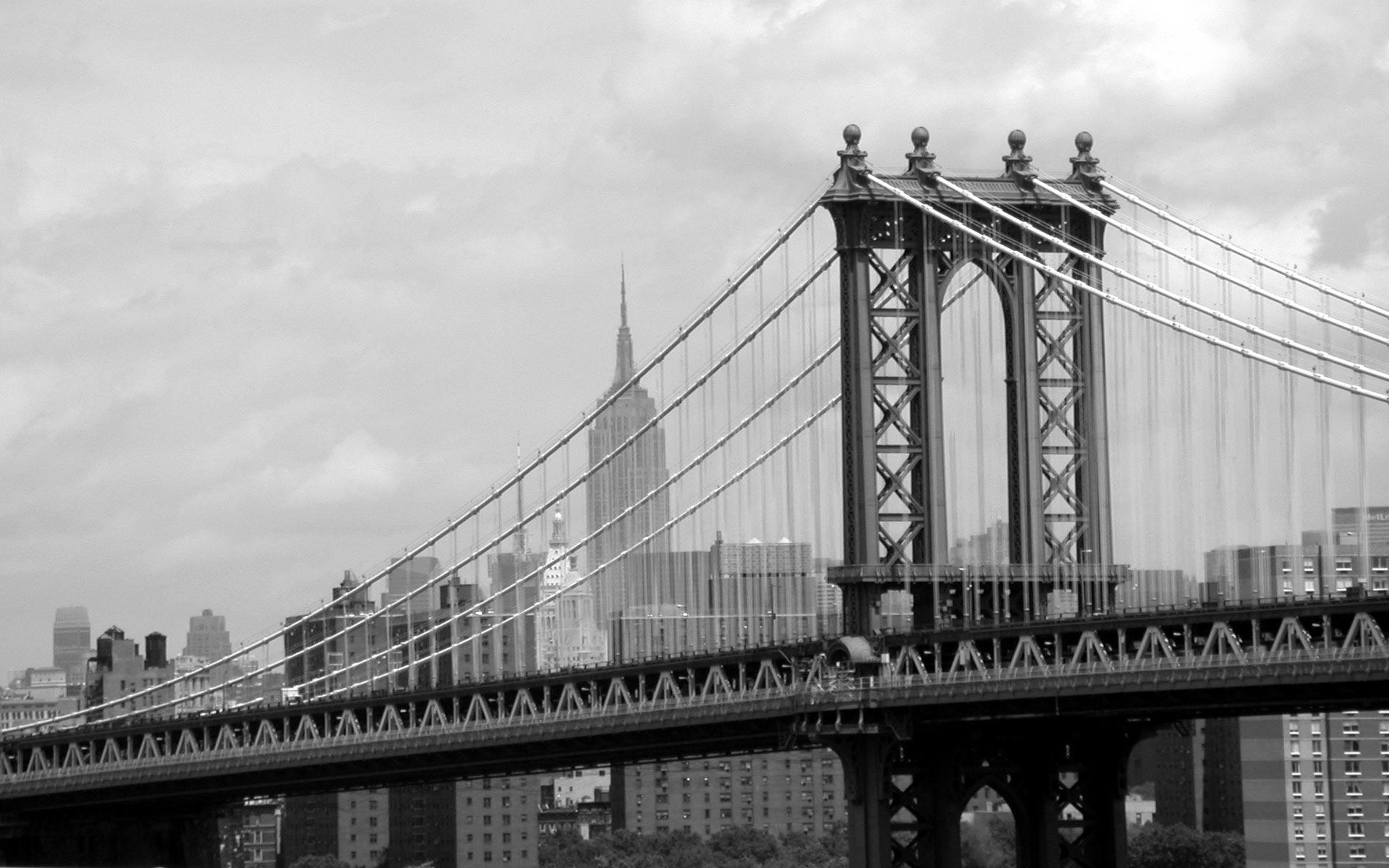 Ny Manhattan Bridge Wallpaper 1920x1200 21766