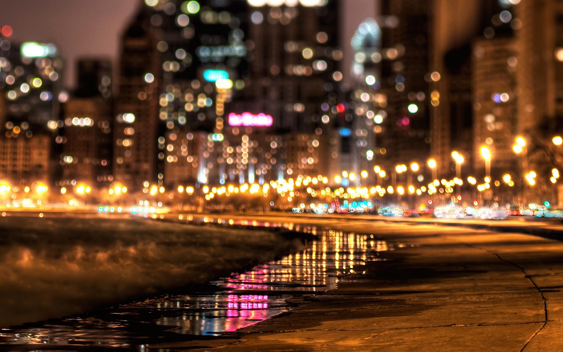 Nyc city lights