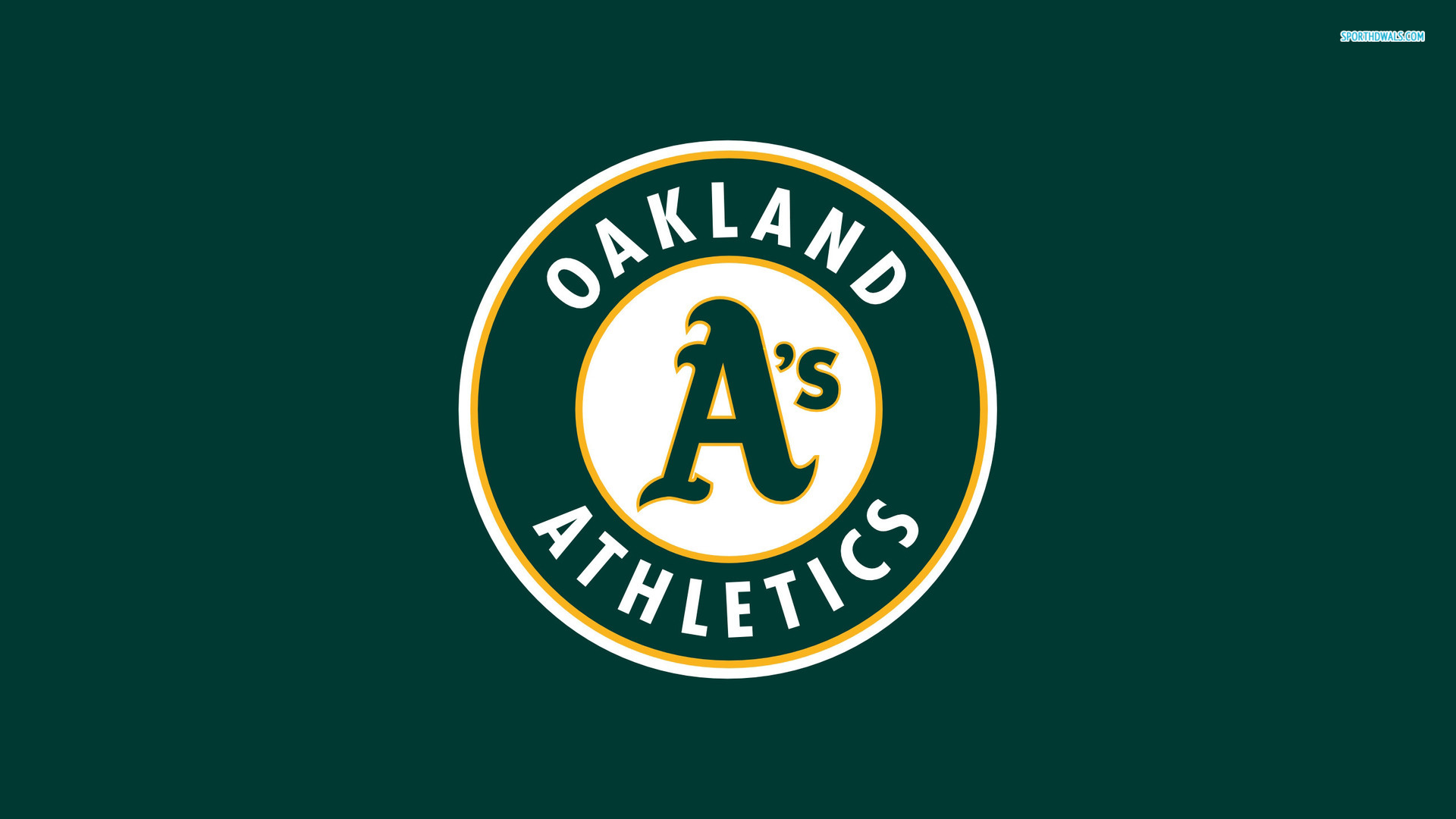 Oakland Athletics Logo Wallpaper