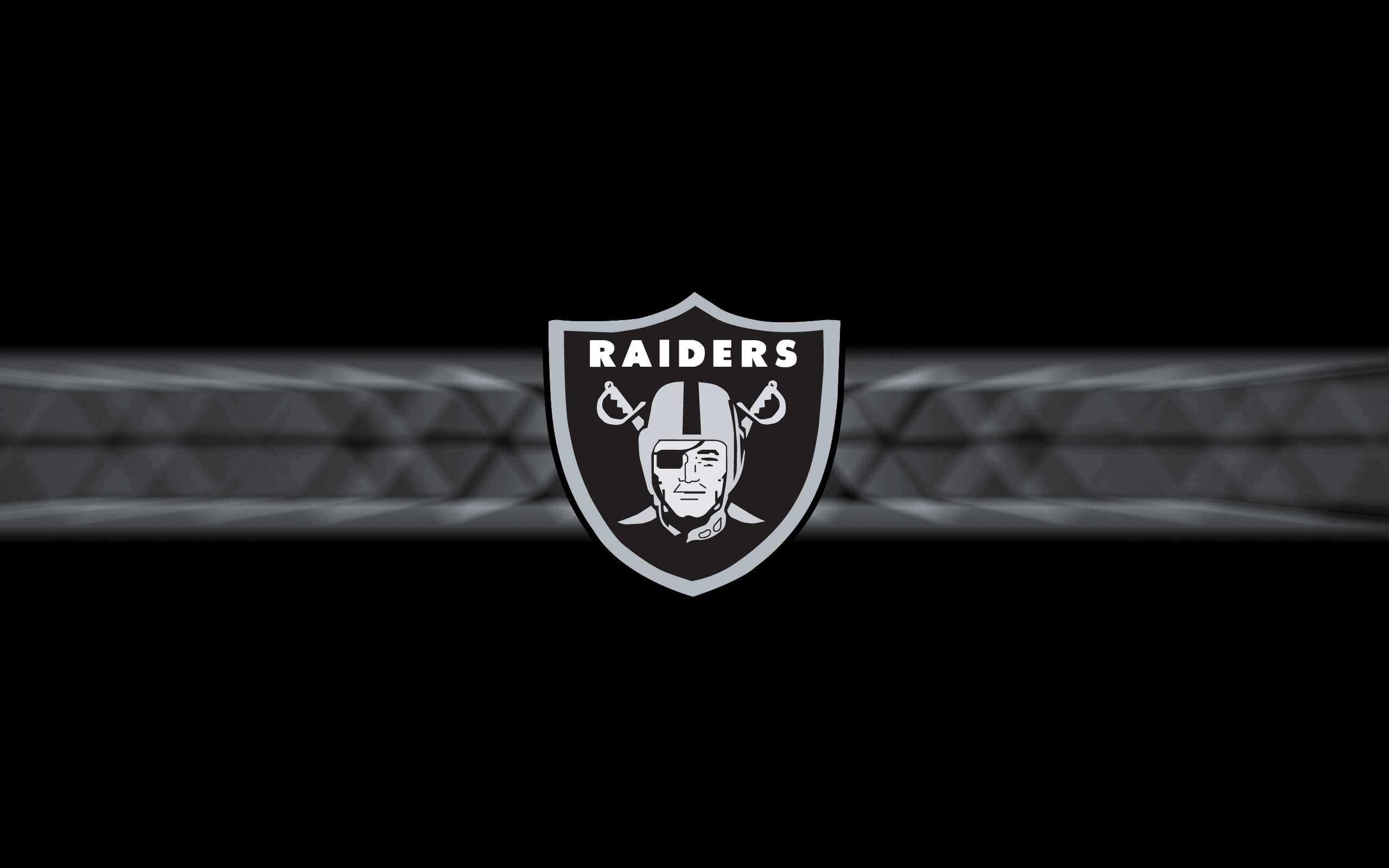 Oakland Raiders 2014 NFL Logo Wallpaper