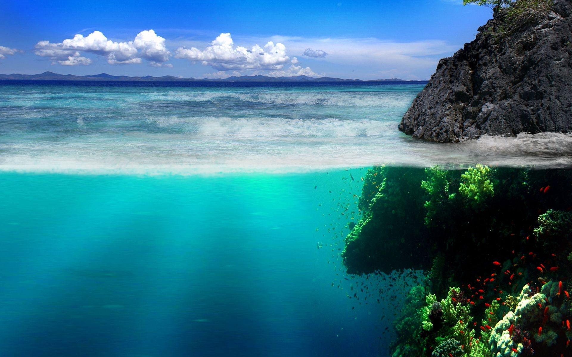 Ocean Landscape Wallpapers