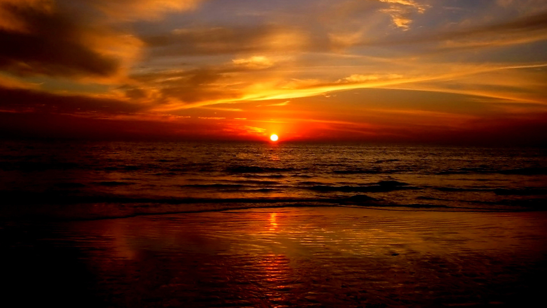 ... Ocean Sunset · Ocean Sunset Pictures