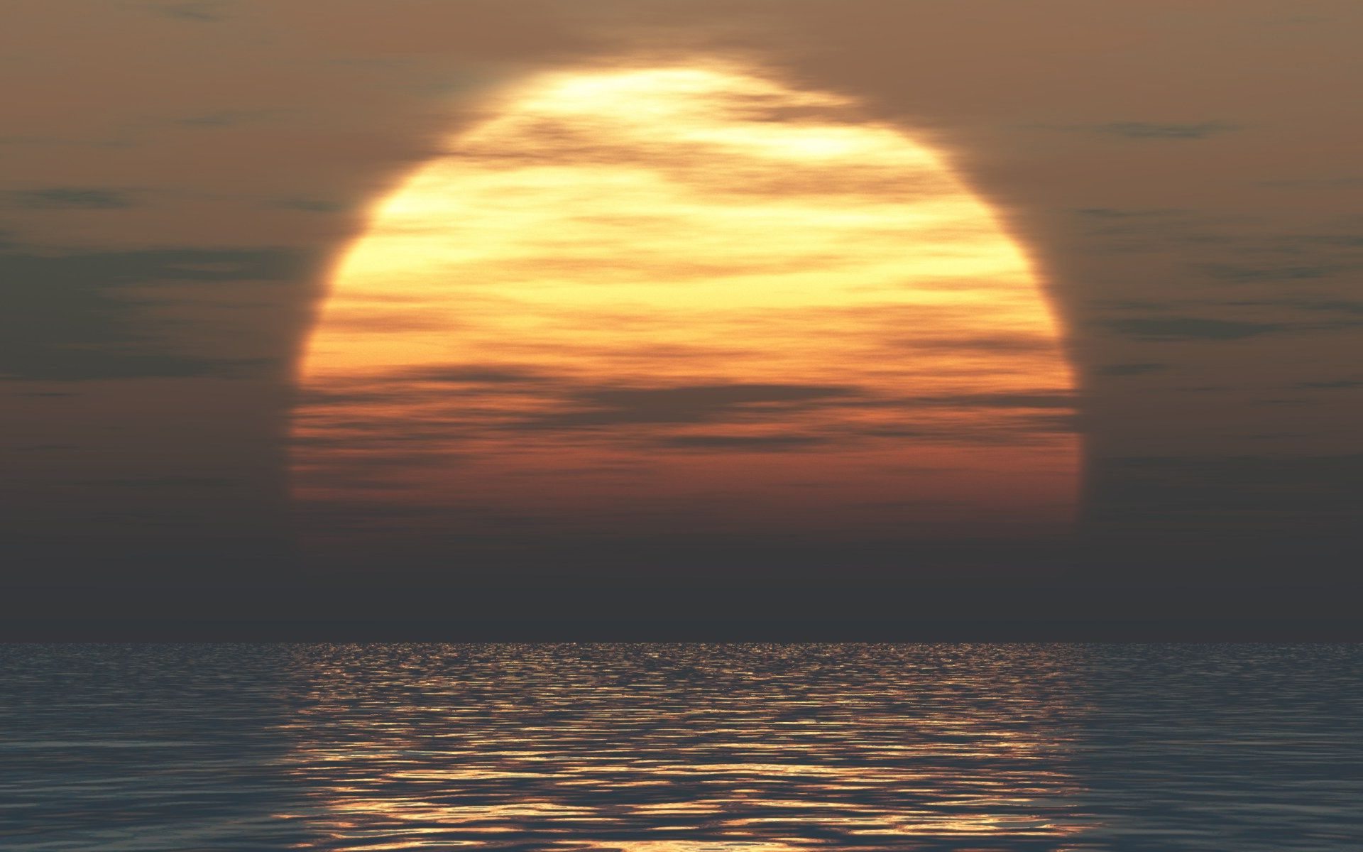 Different Sunset View Over the Ocean (click to view)