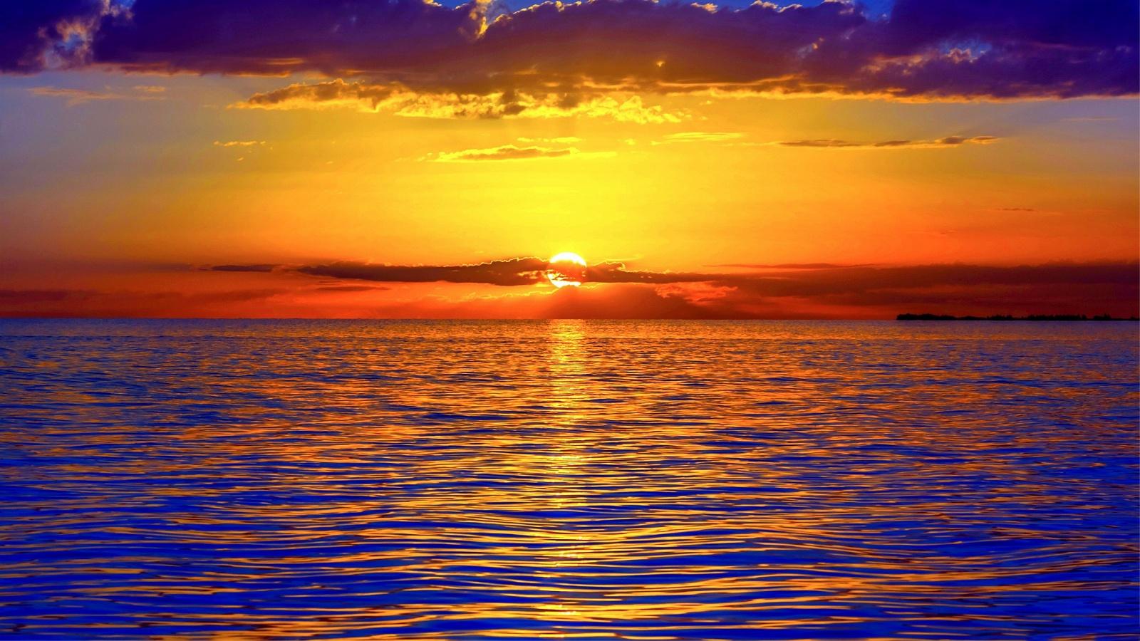 ocean sunset wallpaper hd 1