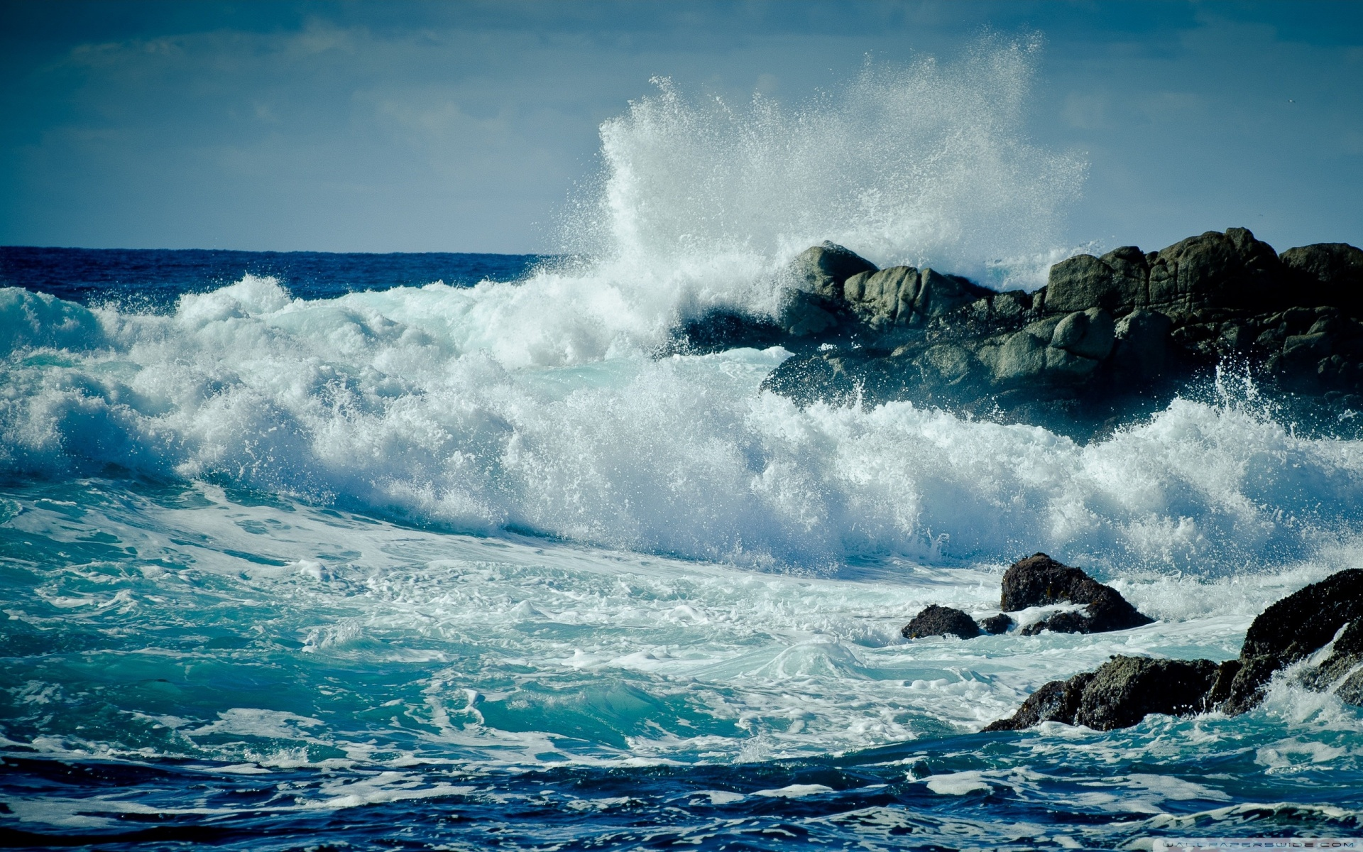 Ocean Astonishing Waves Wallpaper Wallpapers Xpx 1920x1200px