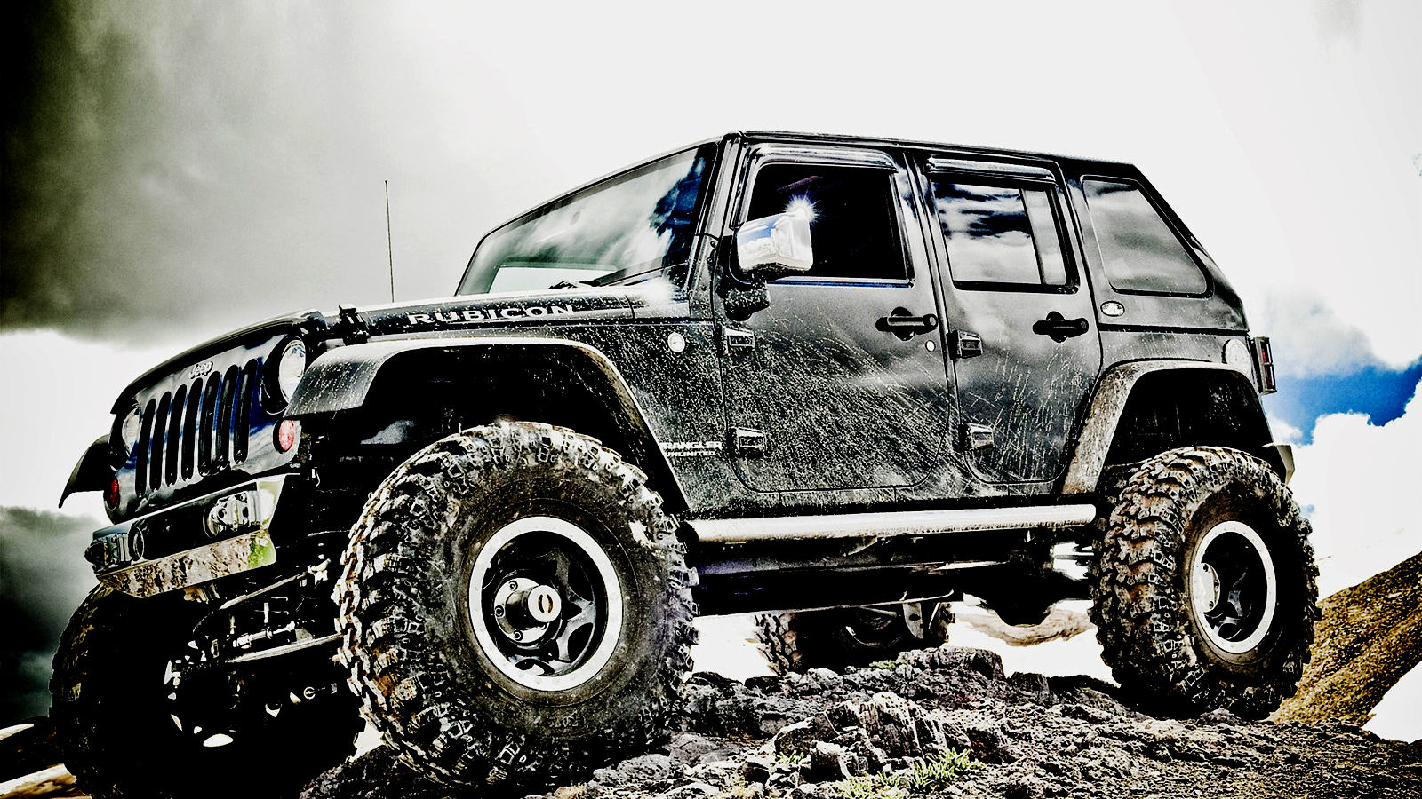 Cool Off Road Wallpaper