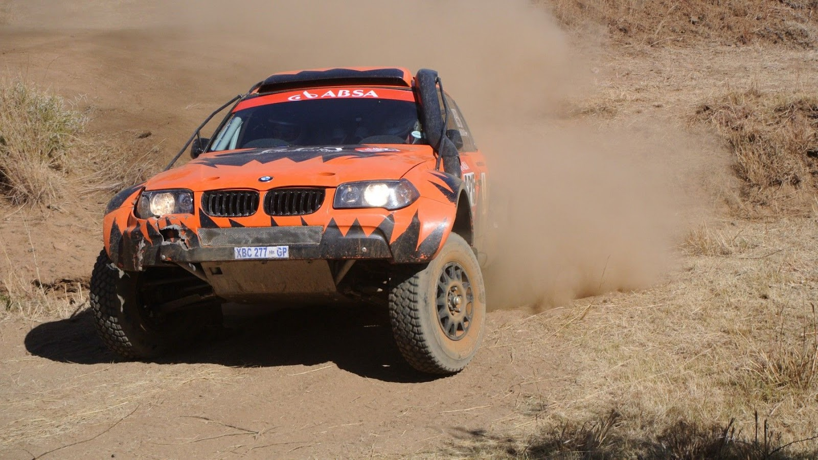 RFS BMW X3 off-road race car 2