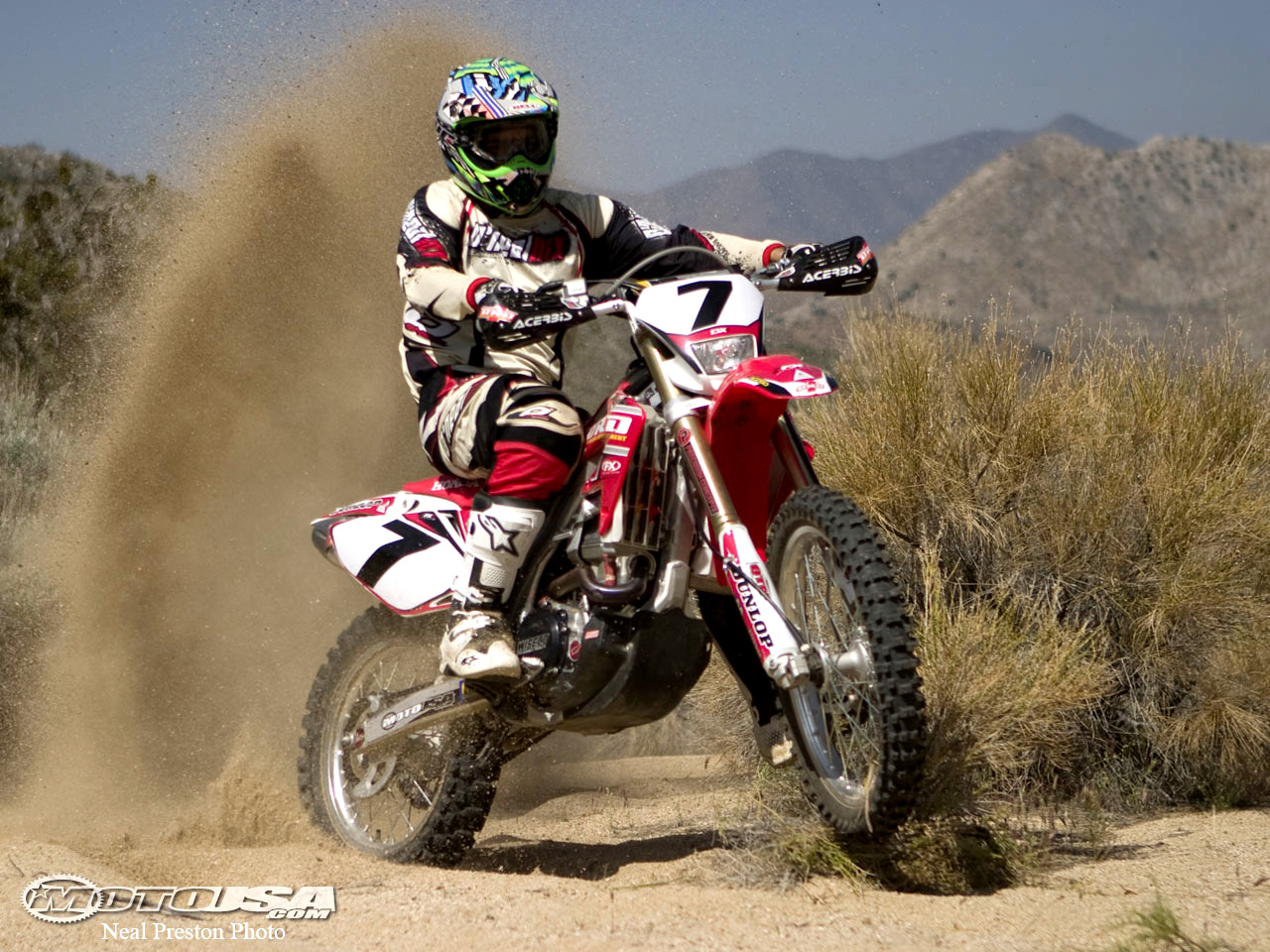The Honda CRF450X is the premier western off-road machine. Dubach Racing let us test their version which basically put the stock bike on steroids.