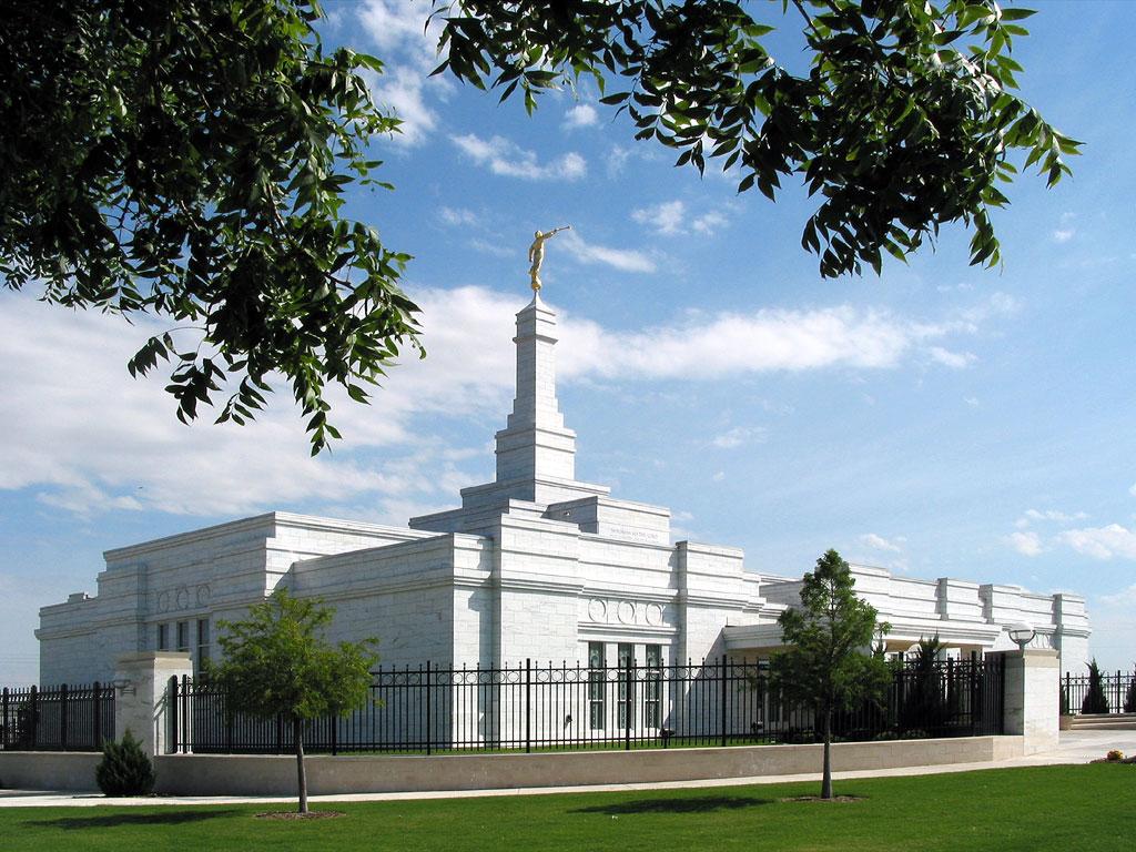 Photograph of the Oklahoma City Oklahoma Mormon Temple
