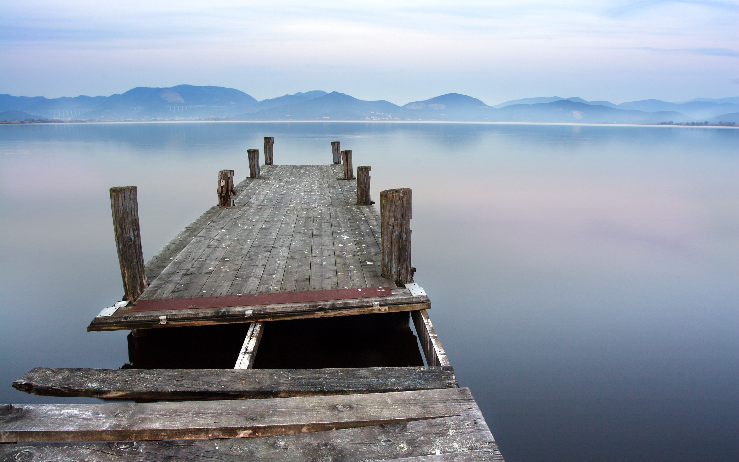 Old Dock Background