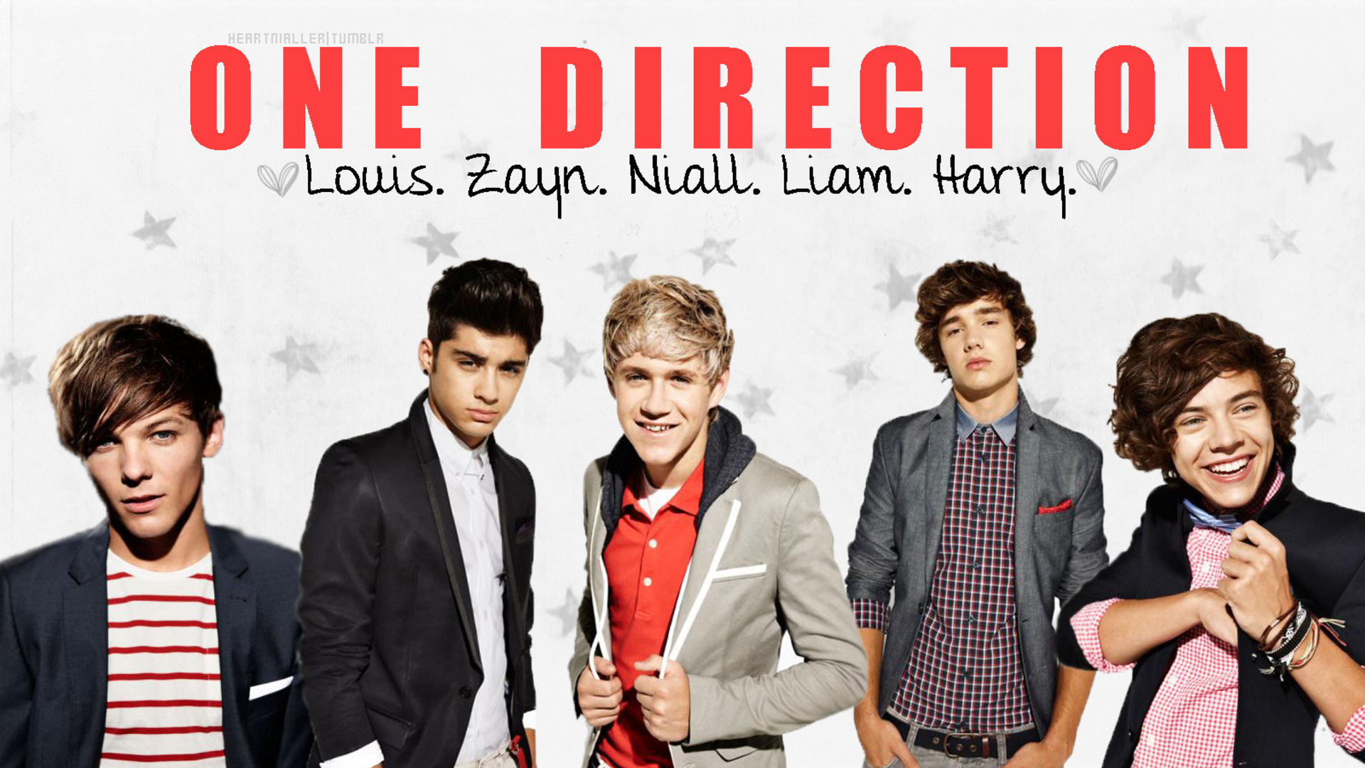 One Direction Wallpaper 2013