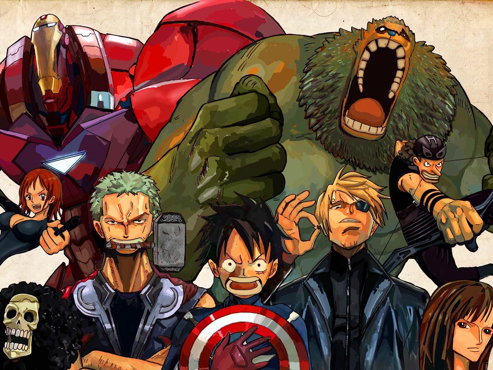 One piece avengers
