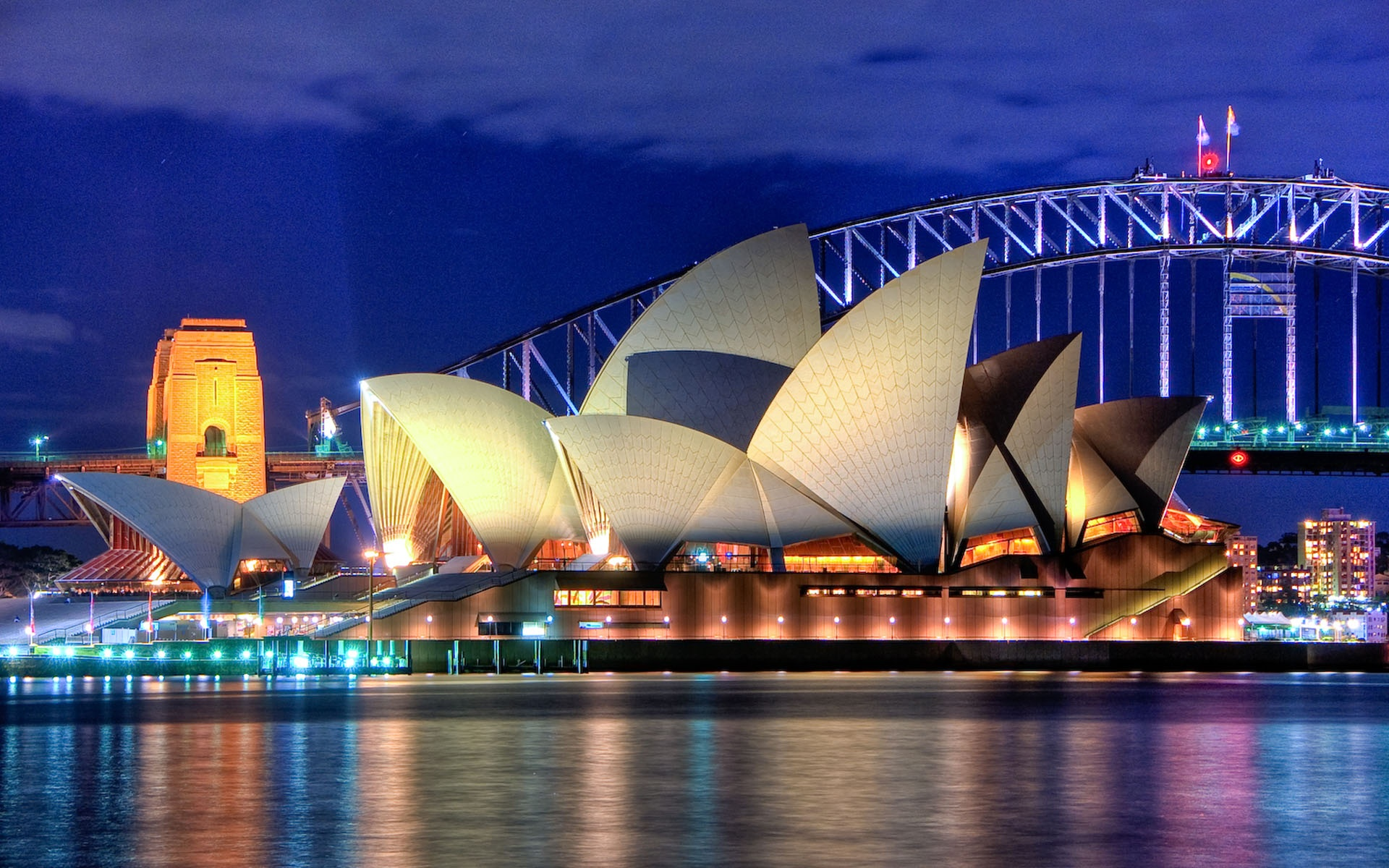 Sydney opera house in australia wallpaper