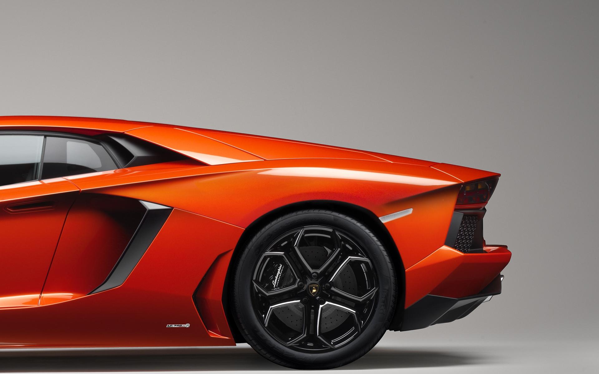 Awesome Orange Car Wallpaper