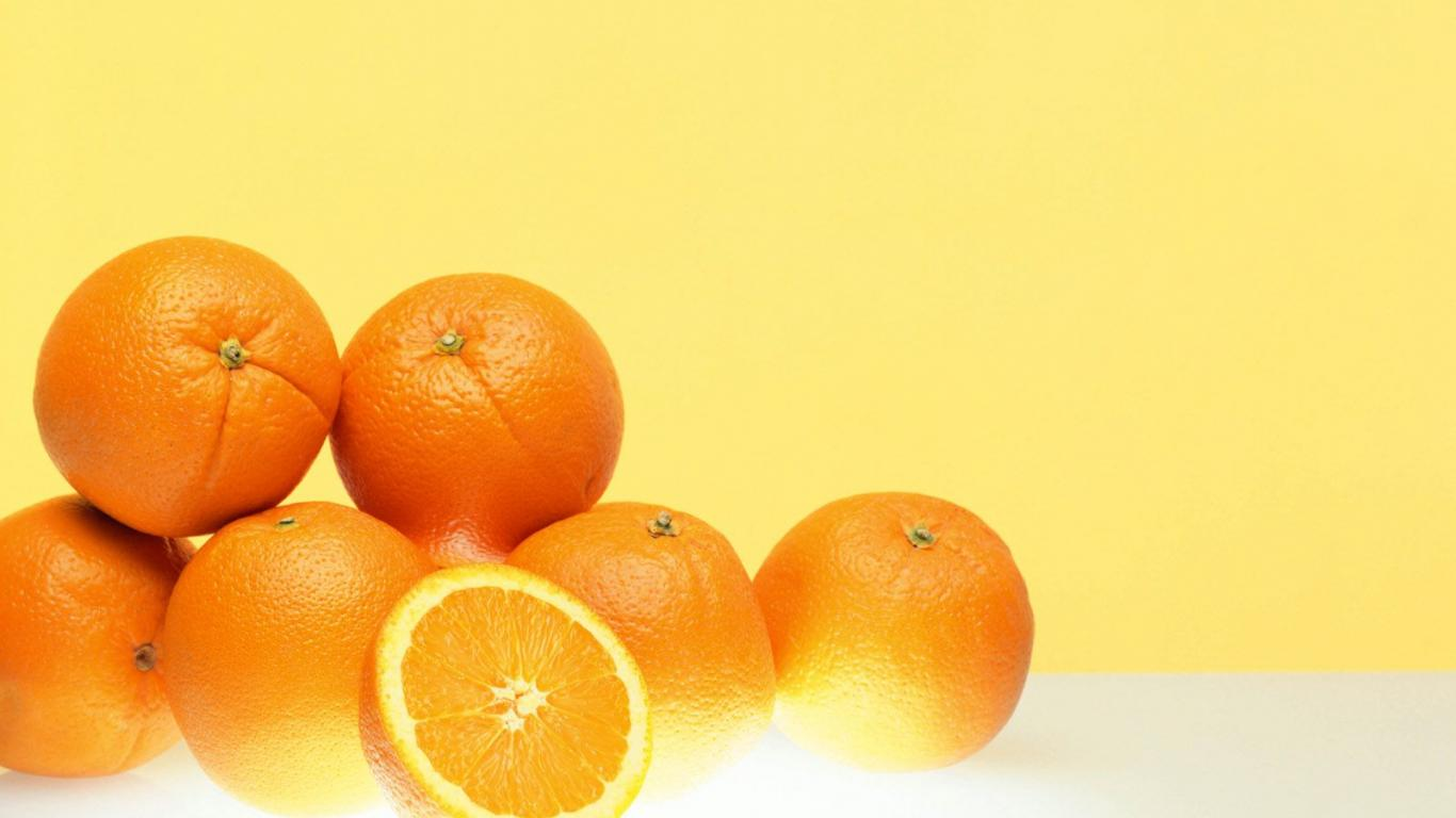 fruit, orange