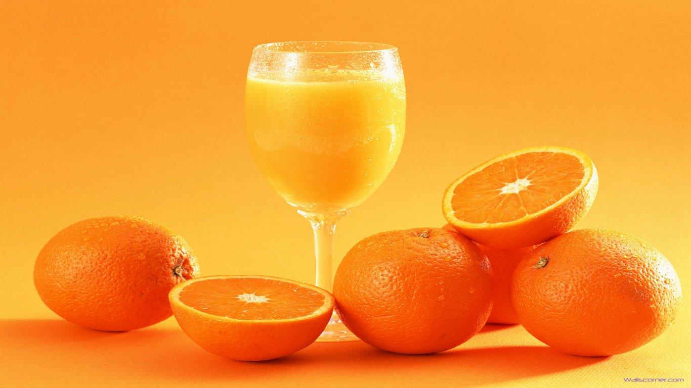 Sweet Orange Juice Wallpaper PC