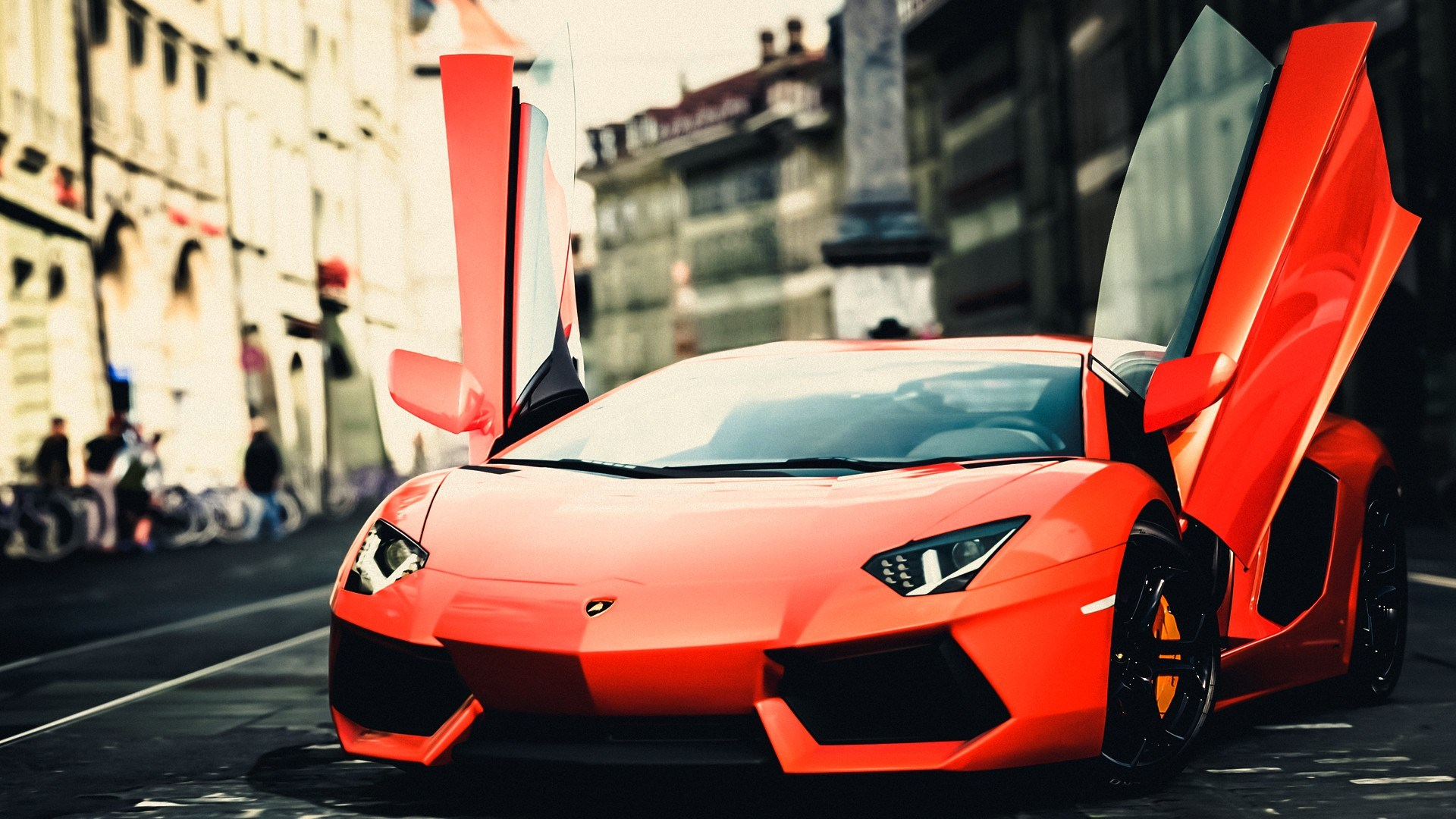 Lamborghini Orange City