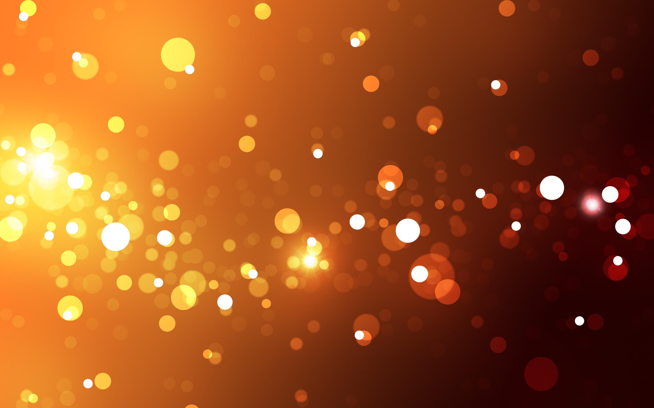 Awesome Orange Light Wallpaper