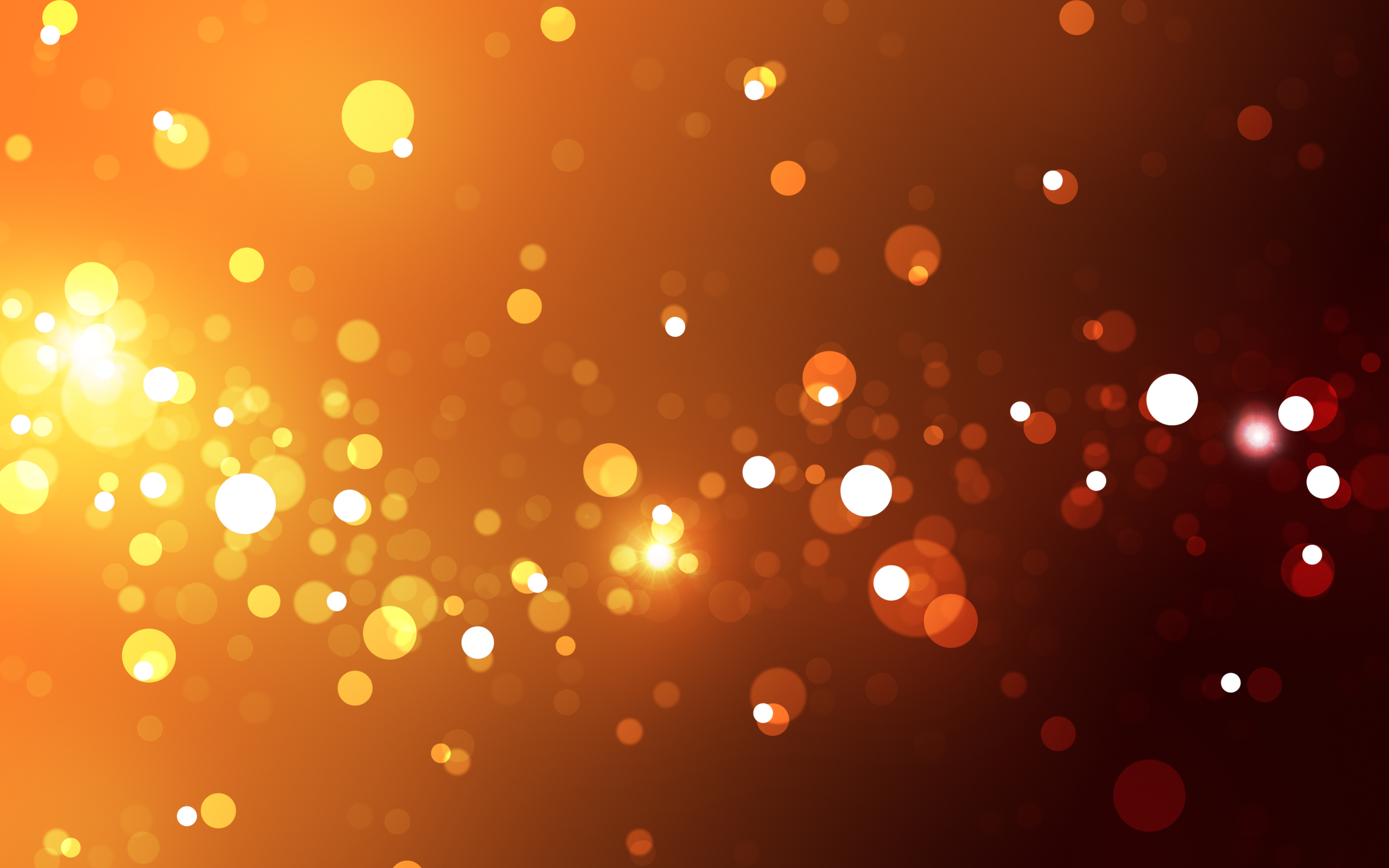 Orange Light Wallpaper HD