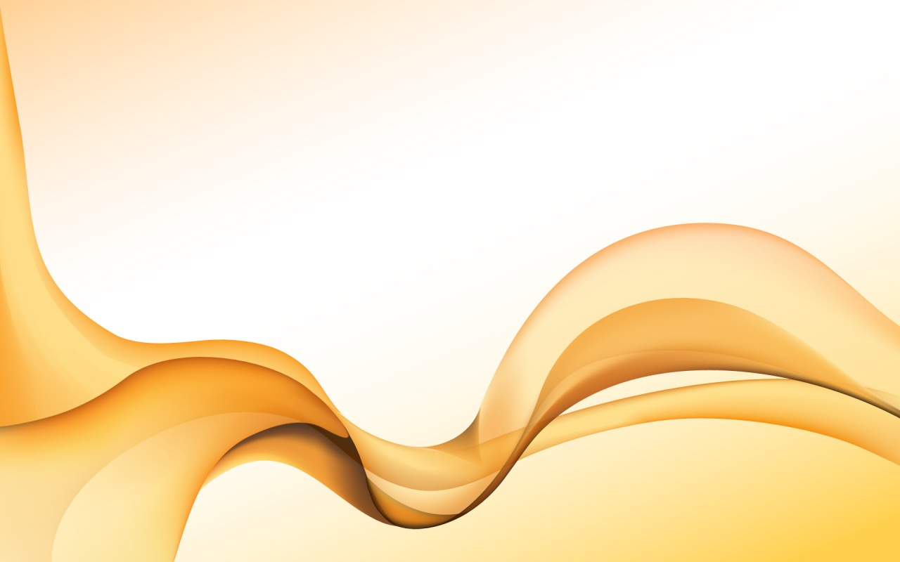 Orange Waves Wallpaper