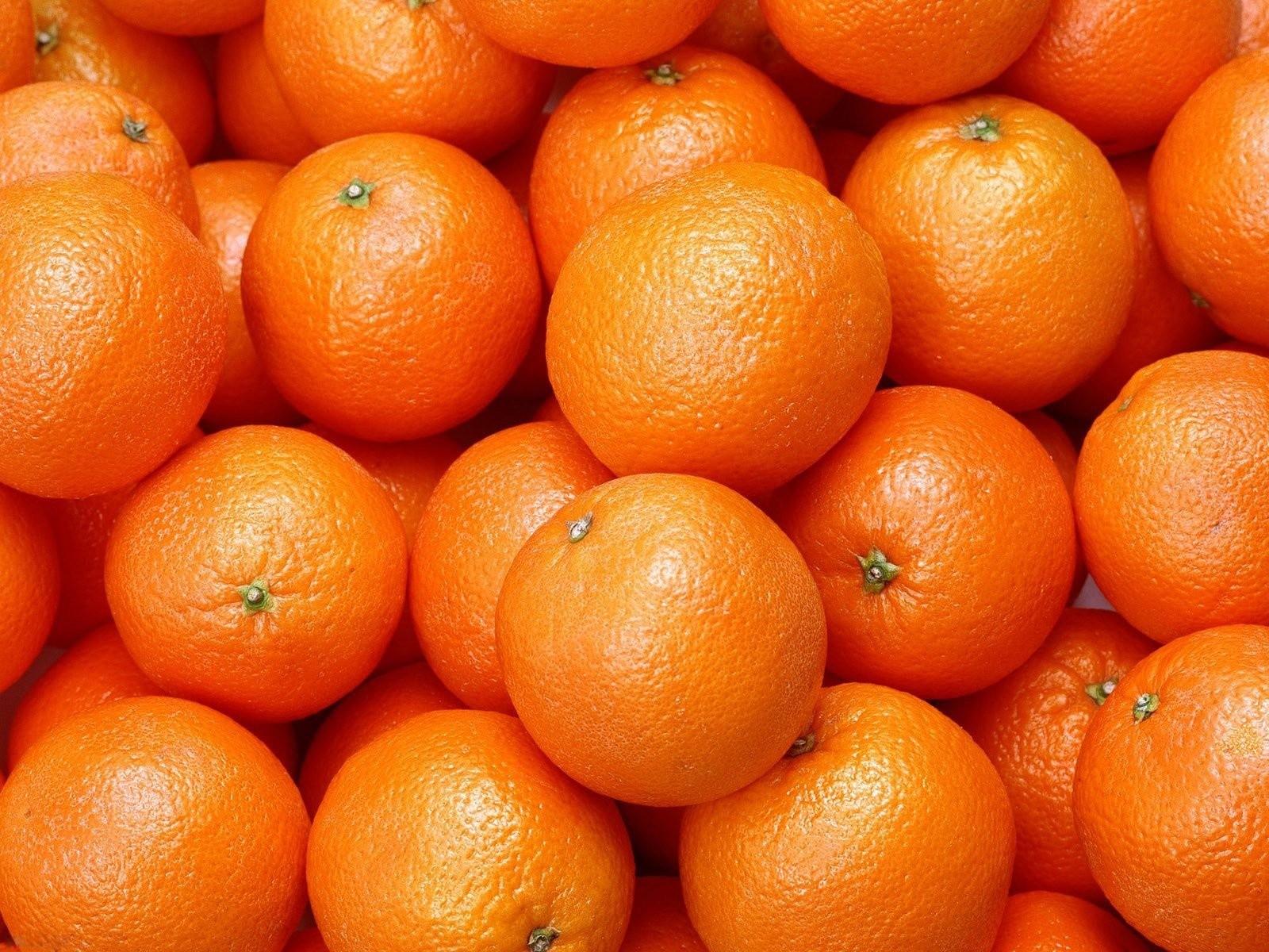 fruits food oranges