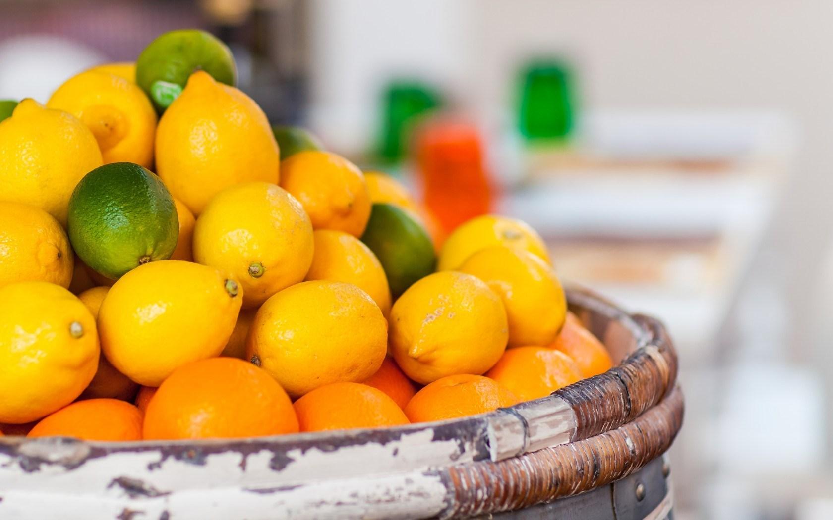 Oranges Fruit Many