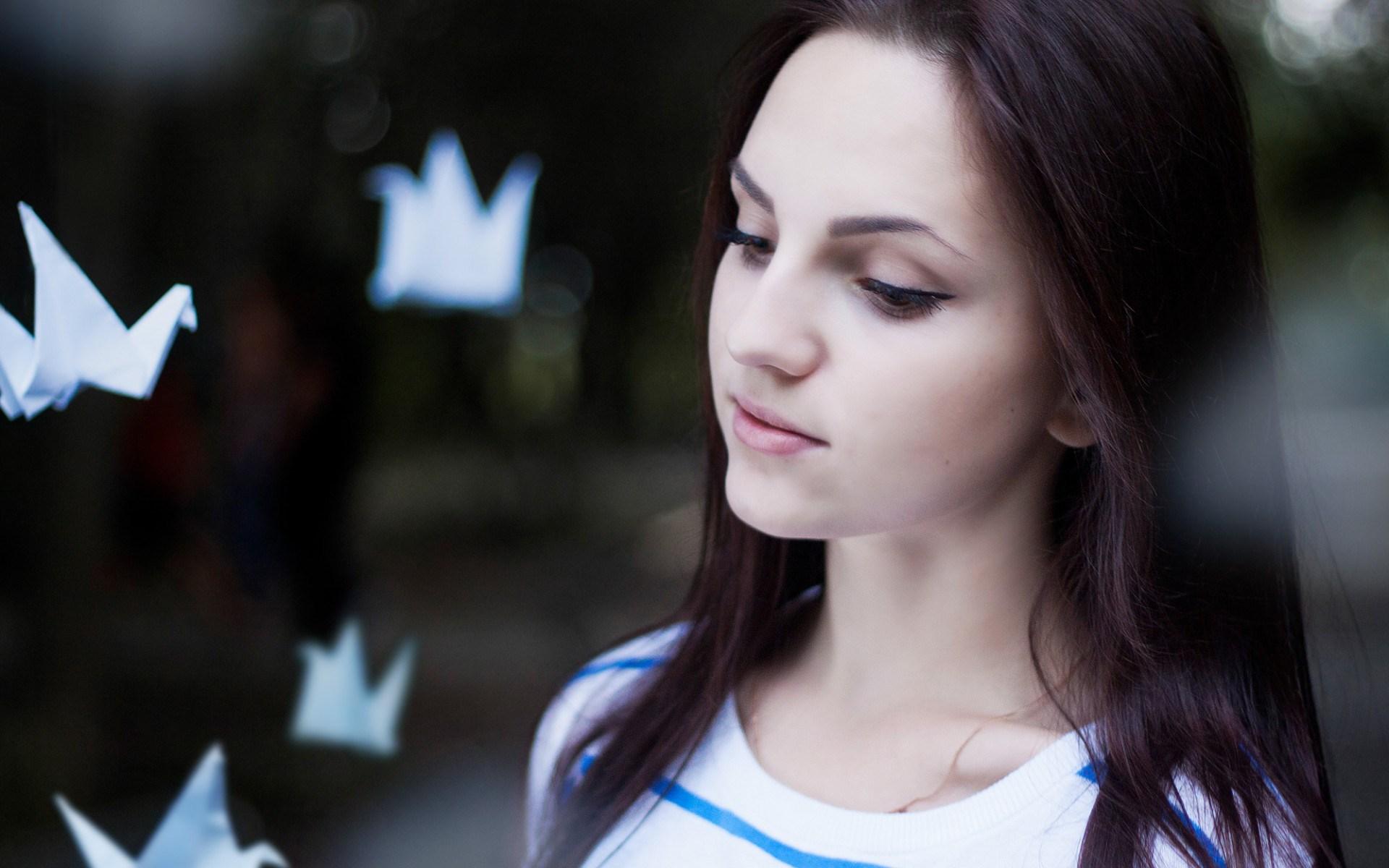 Origami Beautiful Girl