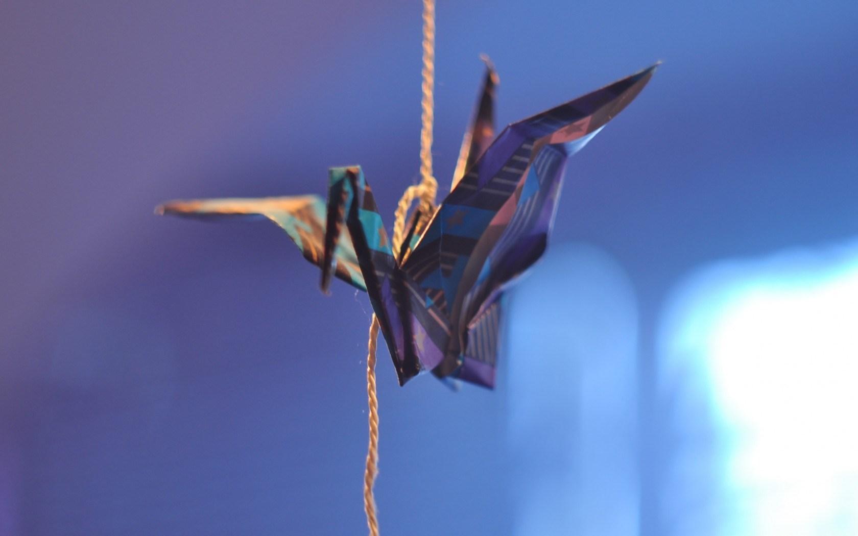 Origami Up Close Wallpaper