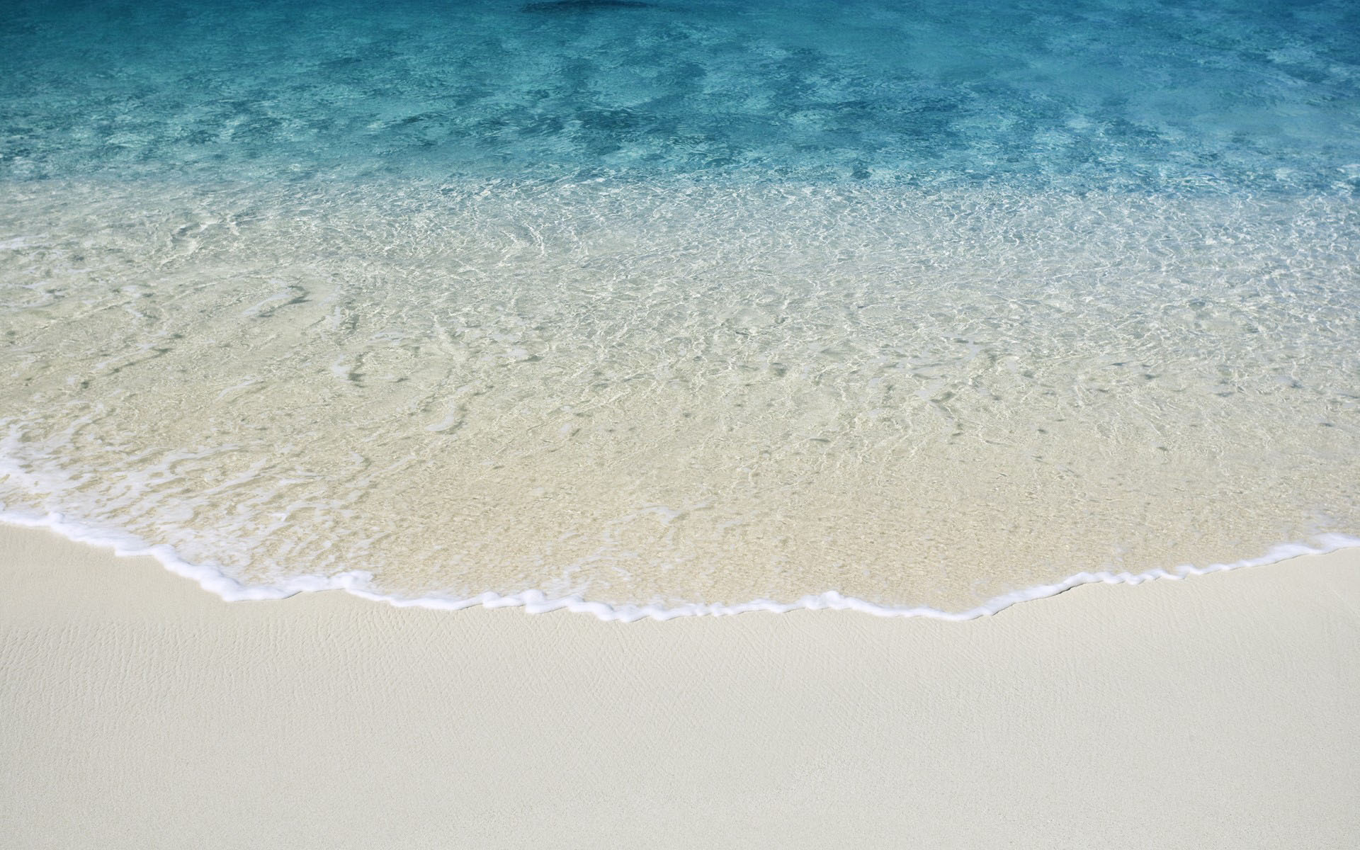 OS X Beach Wallpaper