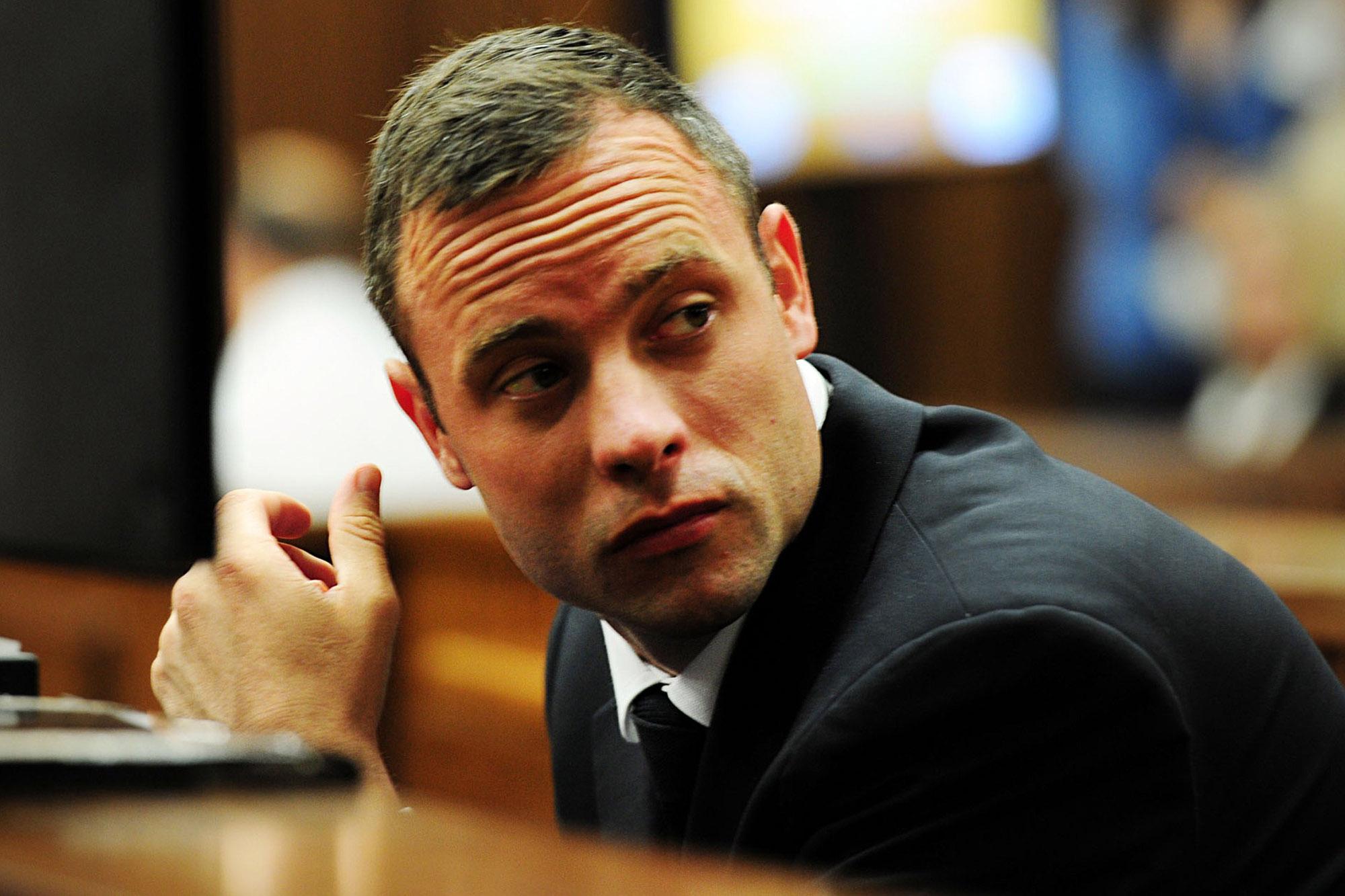 Modal Trigger. Oscar Pistorius' ...