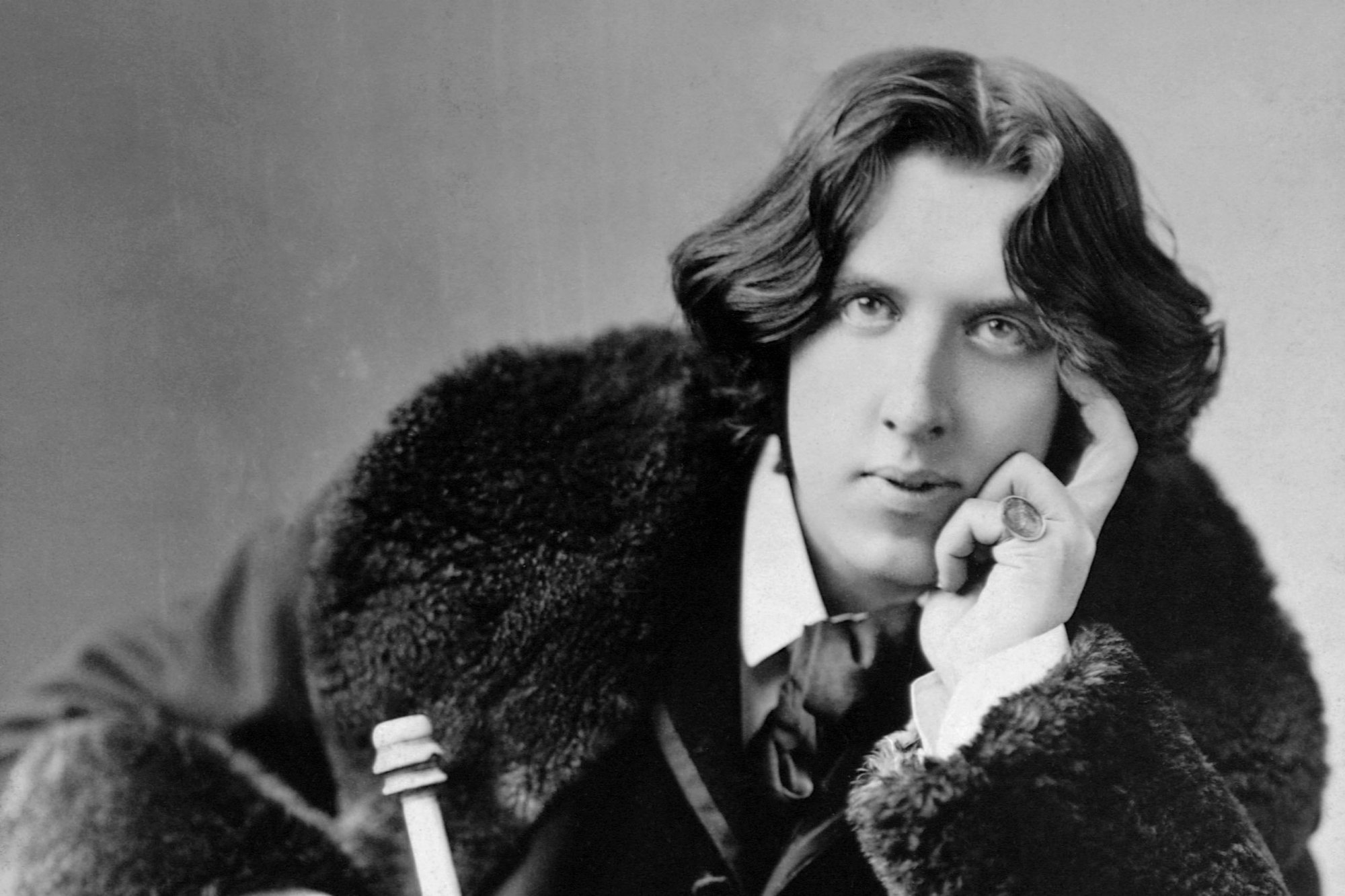 Oscar Wilde, photographed in New York during his 1882 lecture tour.