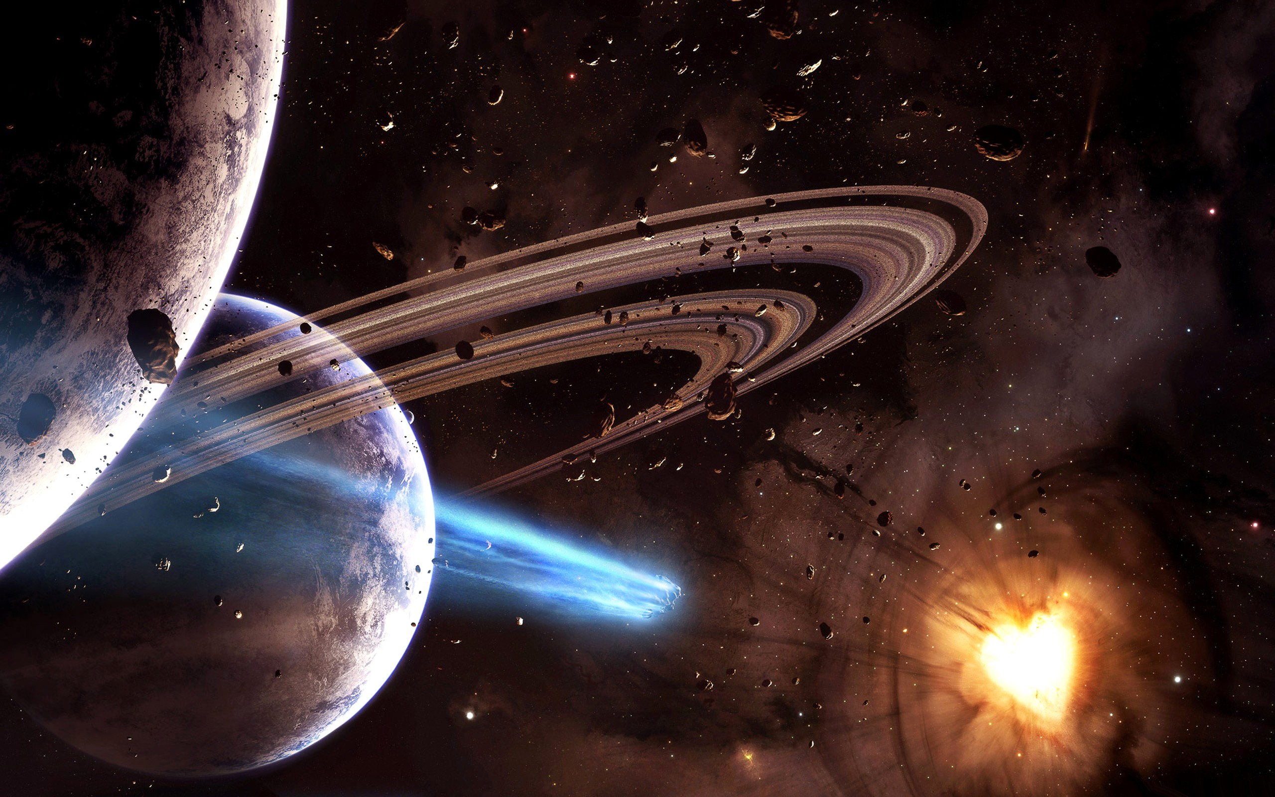 2560x1600 Outer Space wallpaper