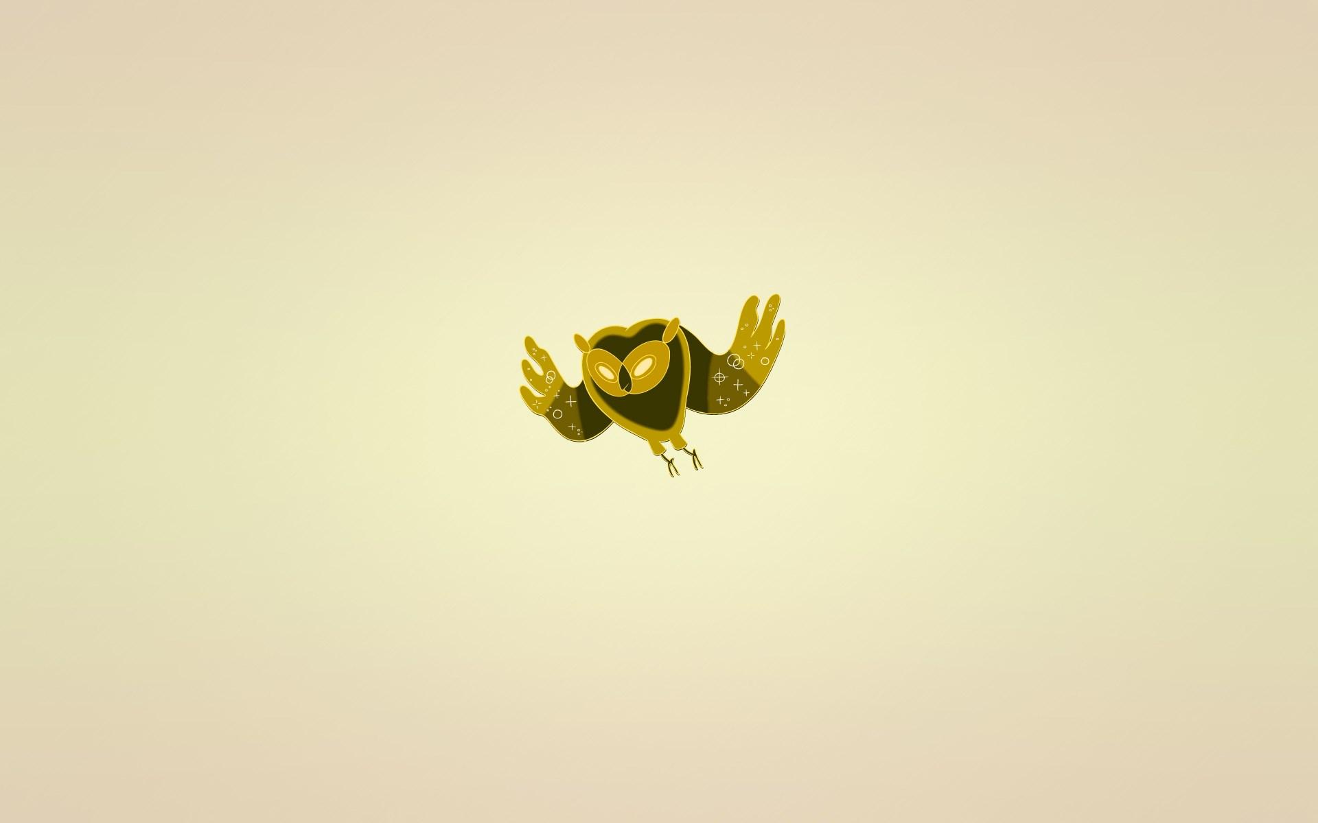 Owl Bird Minimalism Art