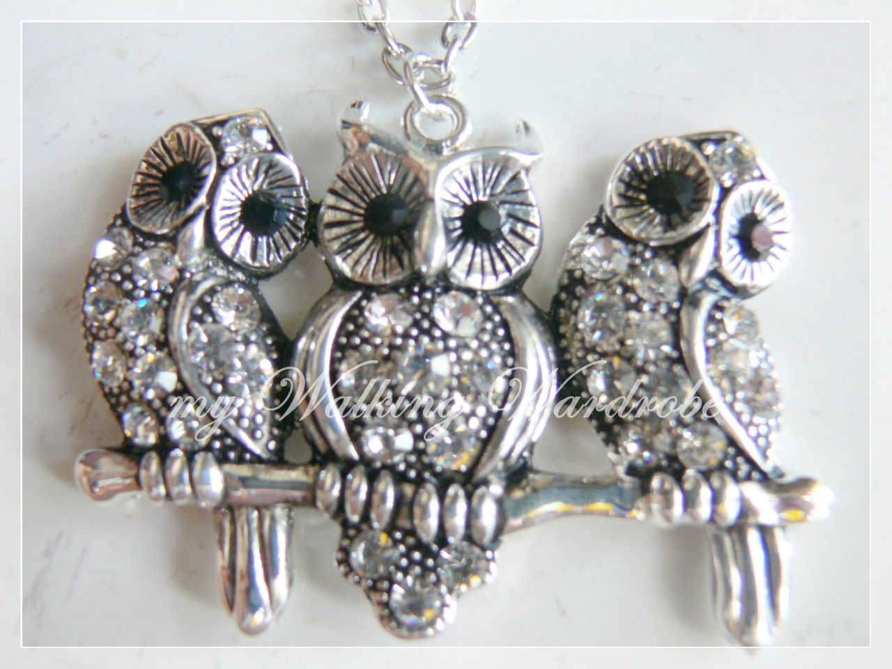 Order Code : Classy Trio Owl Pendant